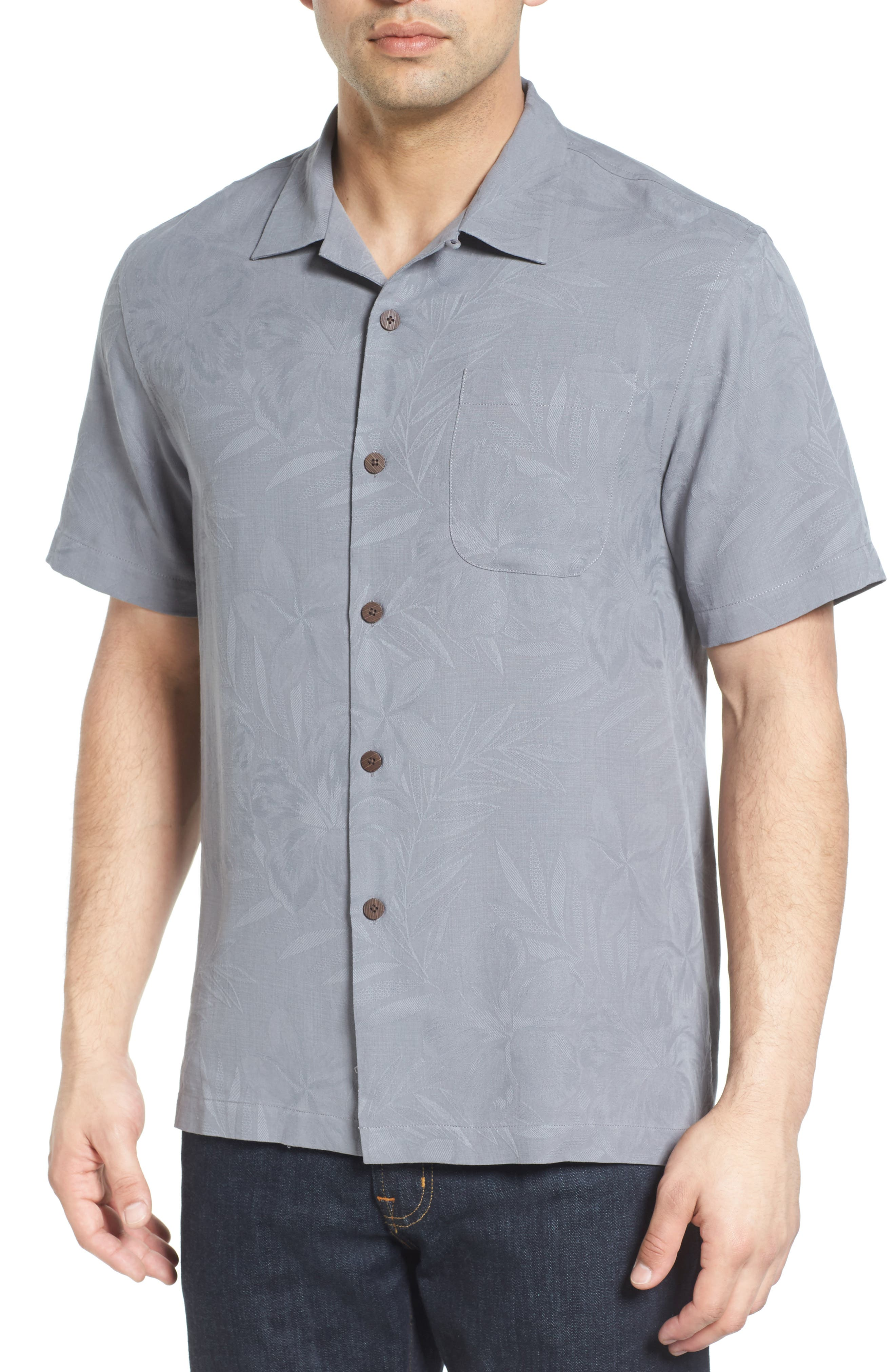 Tommy Bahama Coastal Fronds Silk Camp Shirt