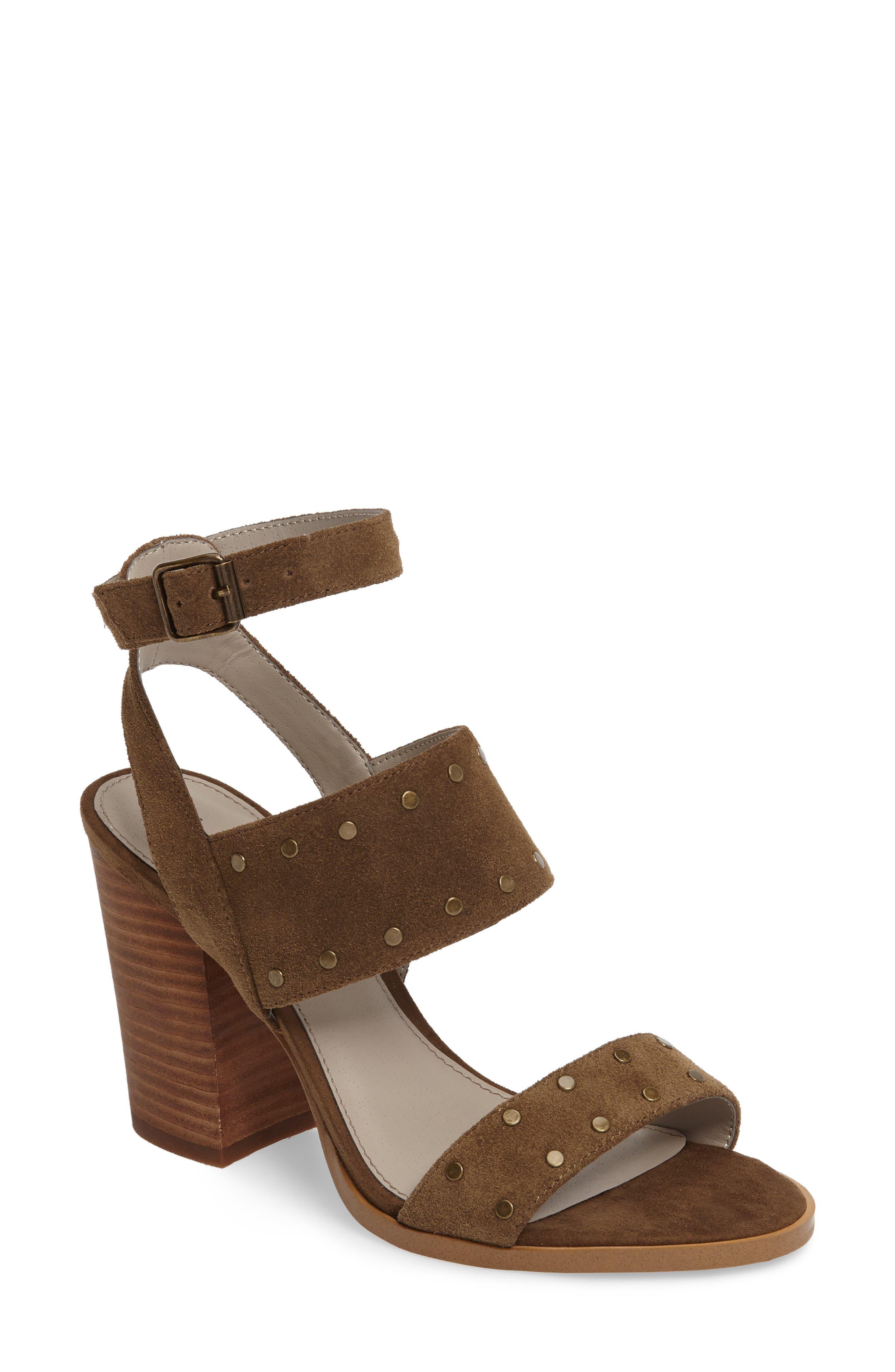 Alternate Image 1 Selected - Hinge Corrine Ankle Strap Sandal (Women)