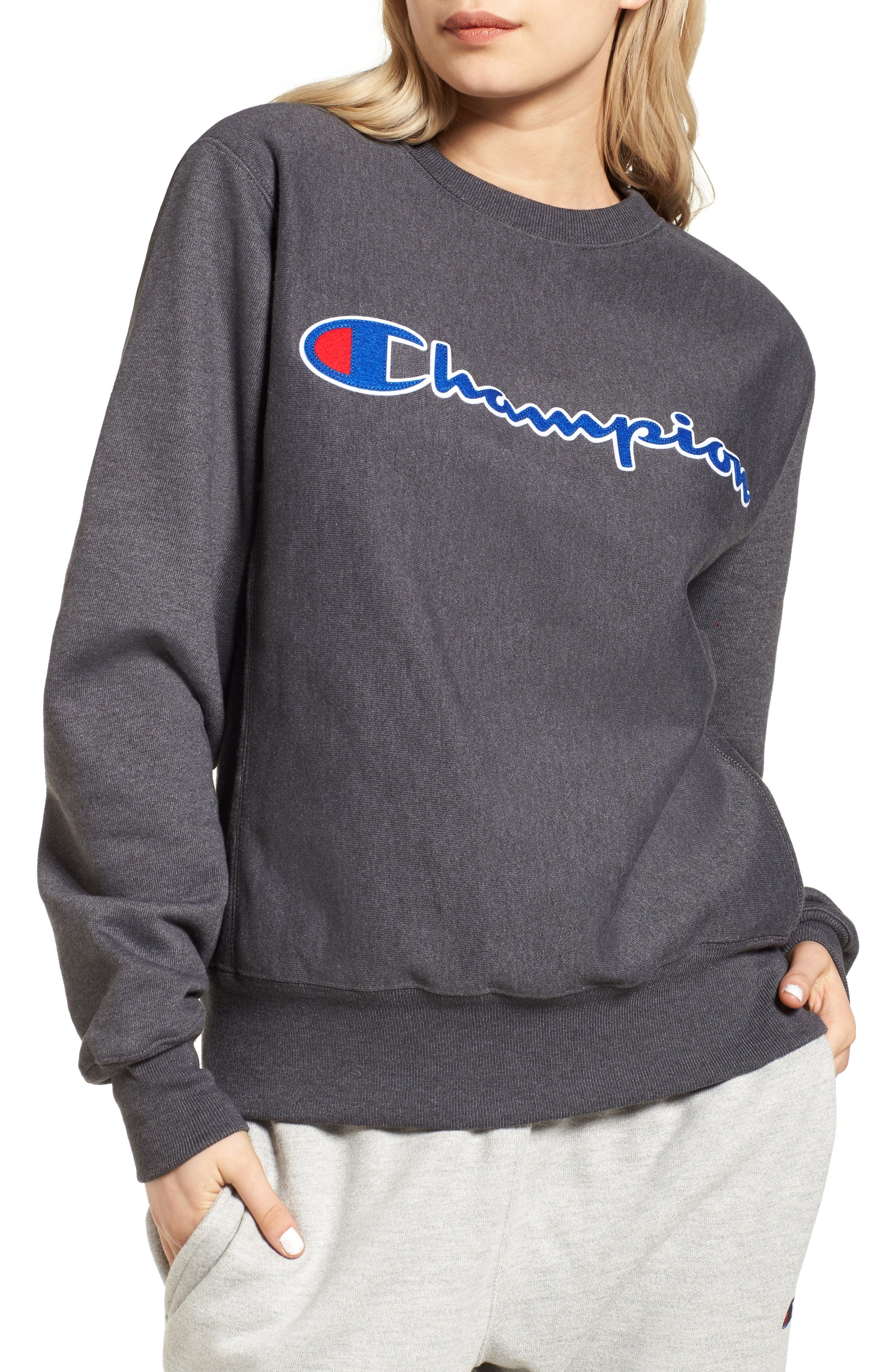 Alternate Image 1 Selected - Champion Crewneck Sweatshirt
