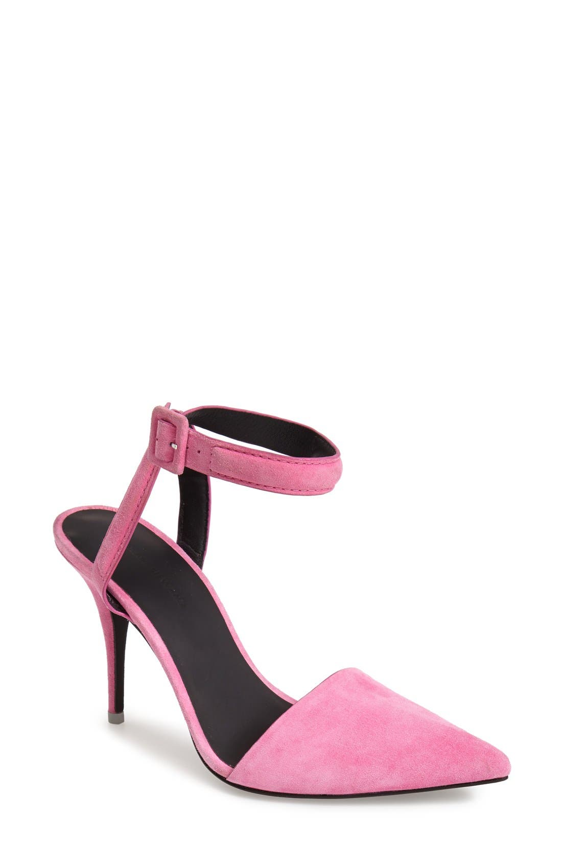 Alternate Image 1 Selected - Alexander Wang 'Lovisa' Ankle Strap Pump (Women)