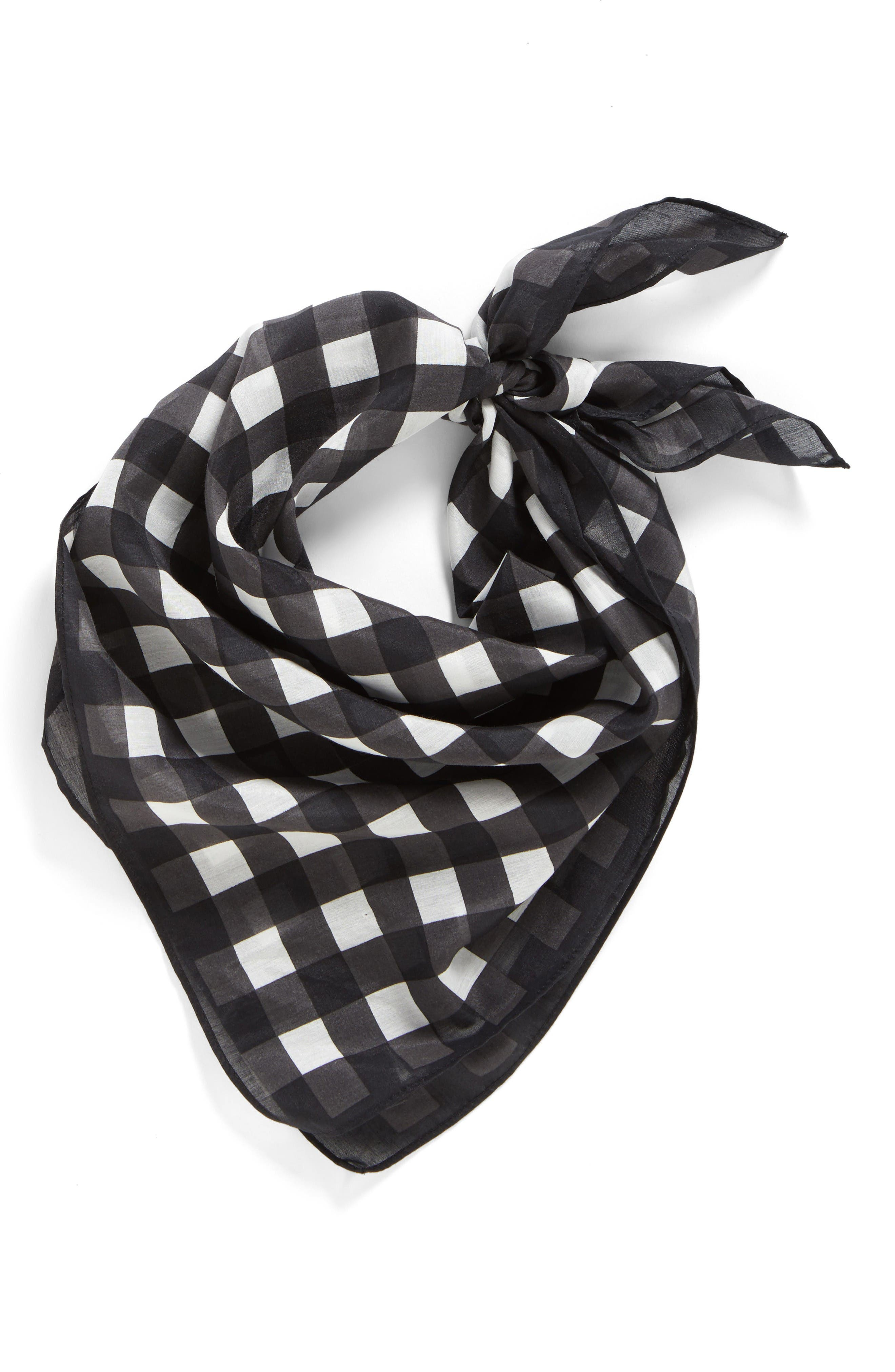 Alternate Image 2  - Rag & Bone Gingham Bandana