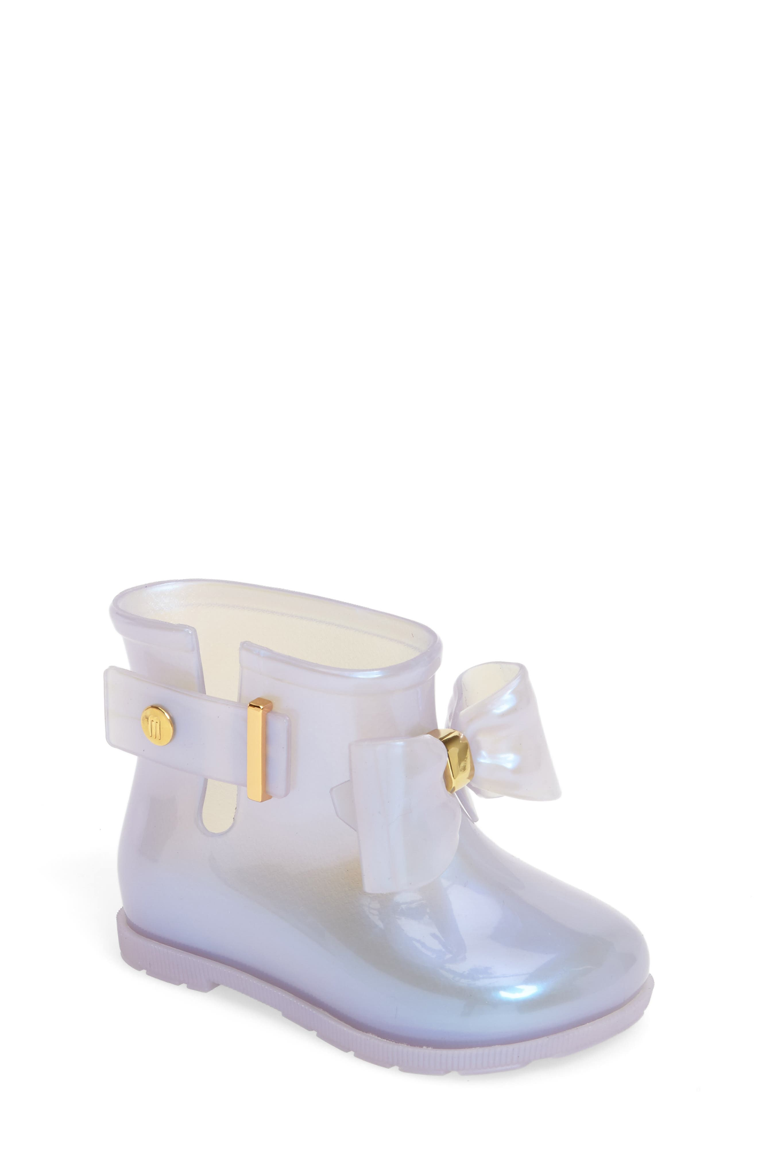 Mini Melissa 'Mini Sugar' Rain Boot (Walker & Toddler)