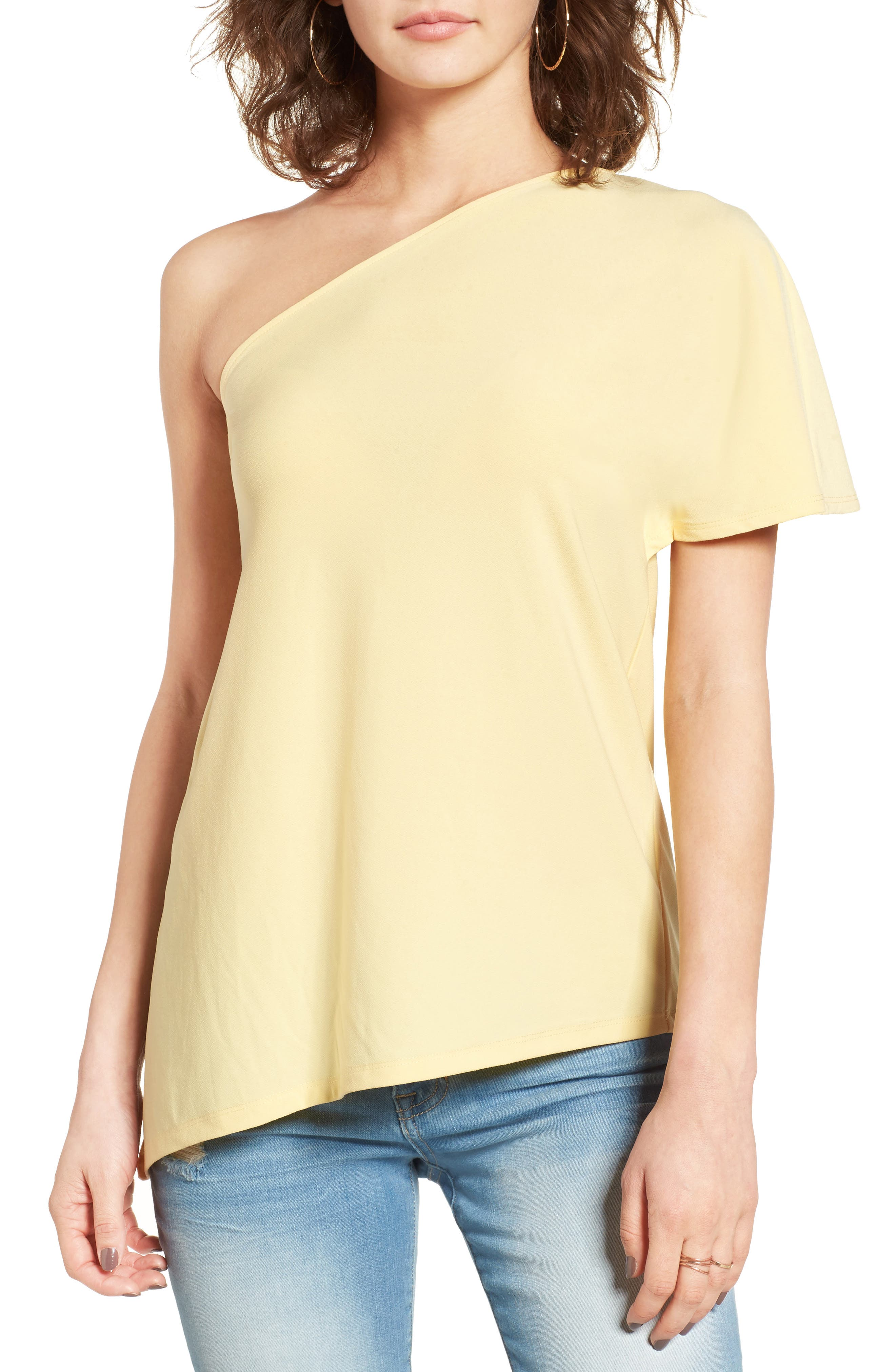 Leith One Shoulder Tee