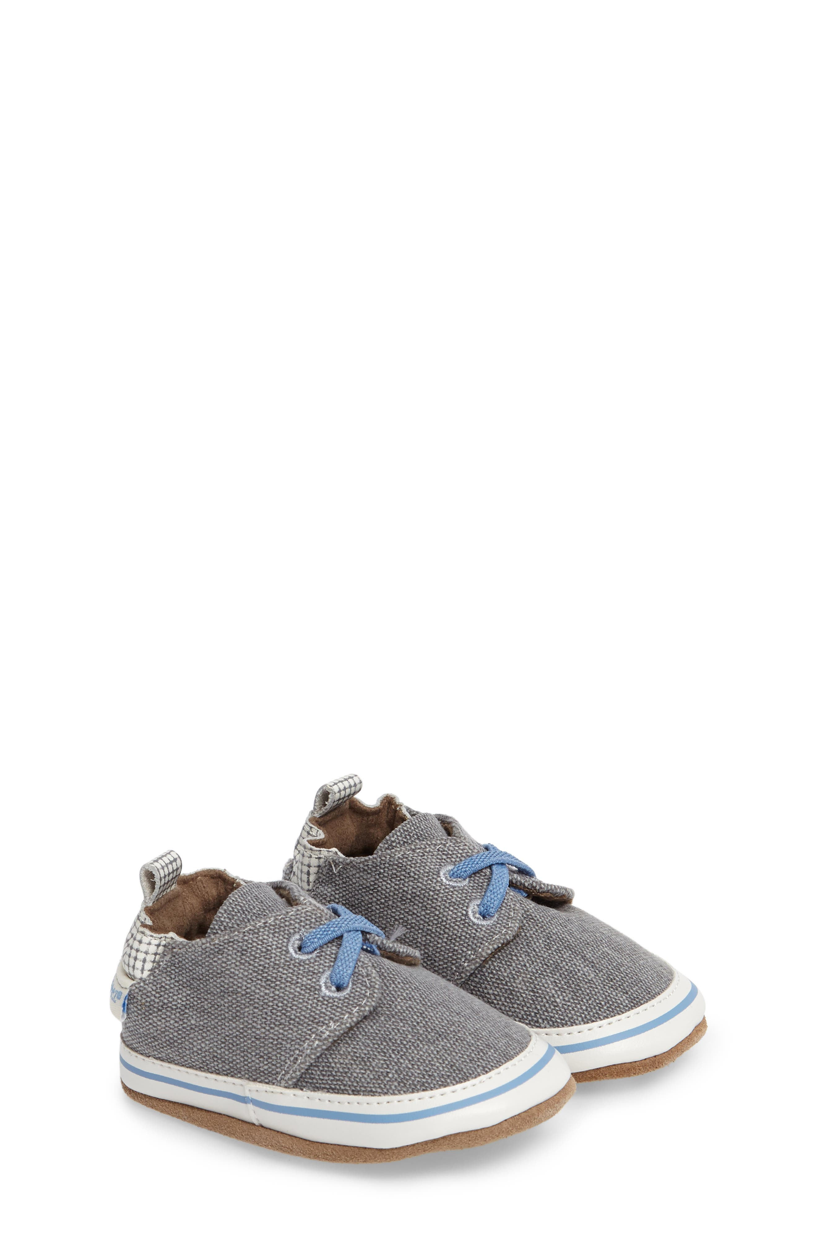 Robeez® Cool and Casual Crib Shoe (Baby & Walker)