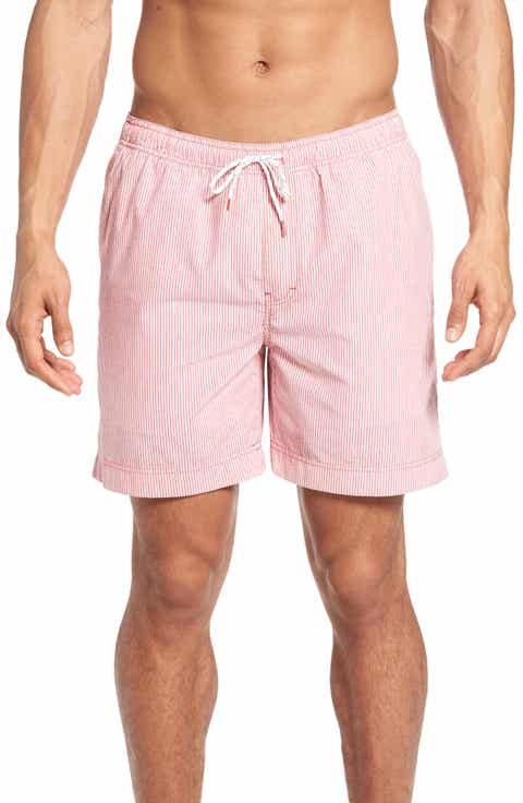 Nordstrom Men's Shop Stripe Swim Trunks