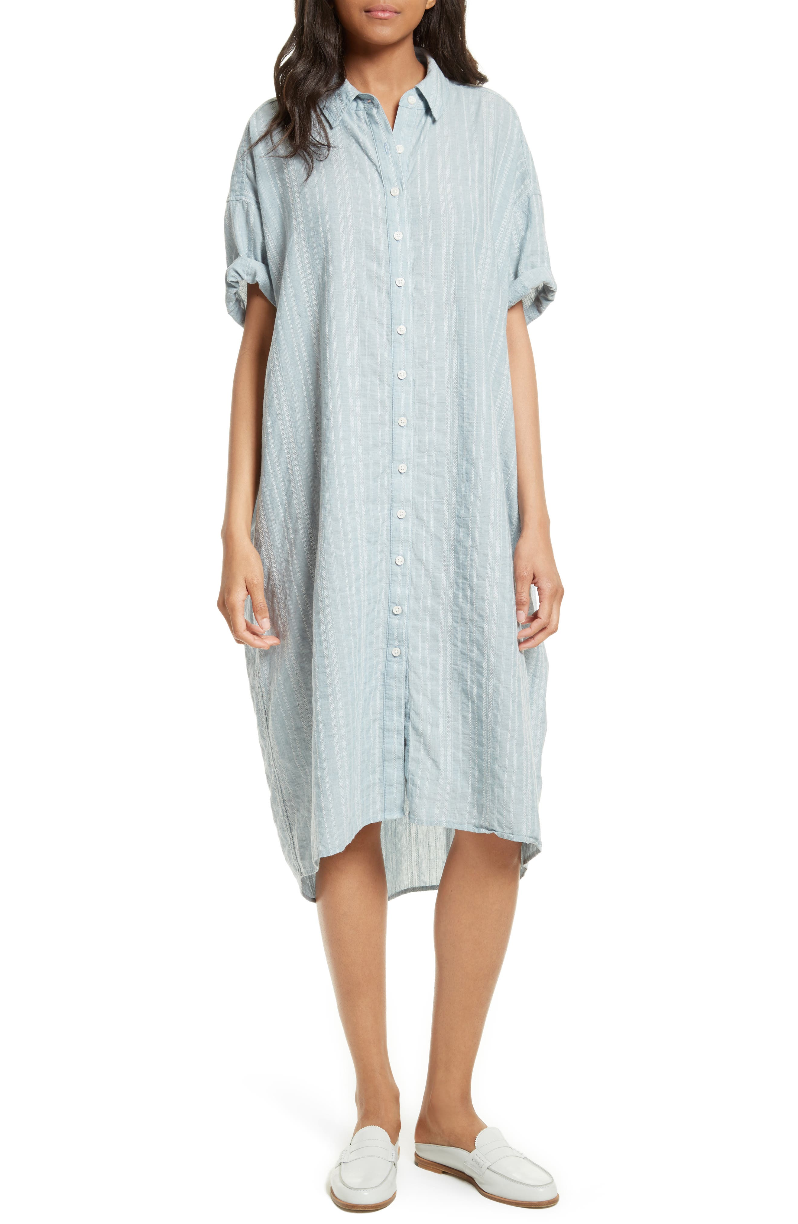 THE GREAT. The Camper Shirtdress