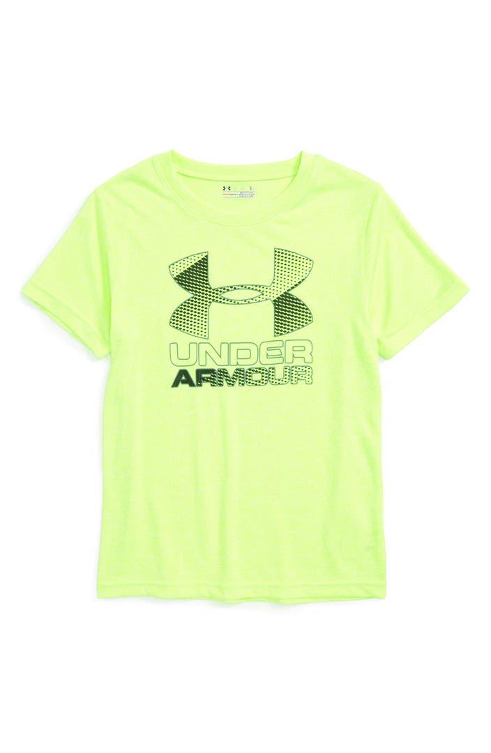 Under Armour Logo Graphic Heatgear T Shirt Toddler Boys