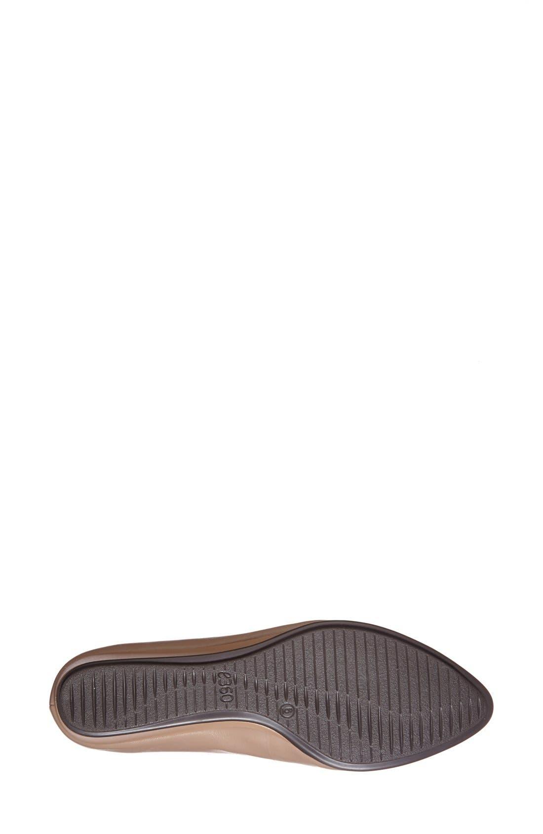 Alternate Image 4  - Easy Spirit 'e360 - Avery' Leather Flat (Women)