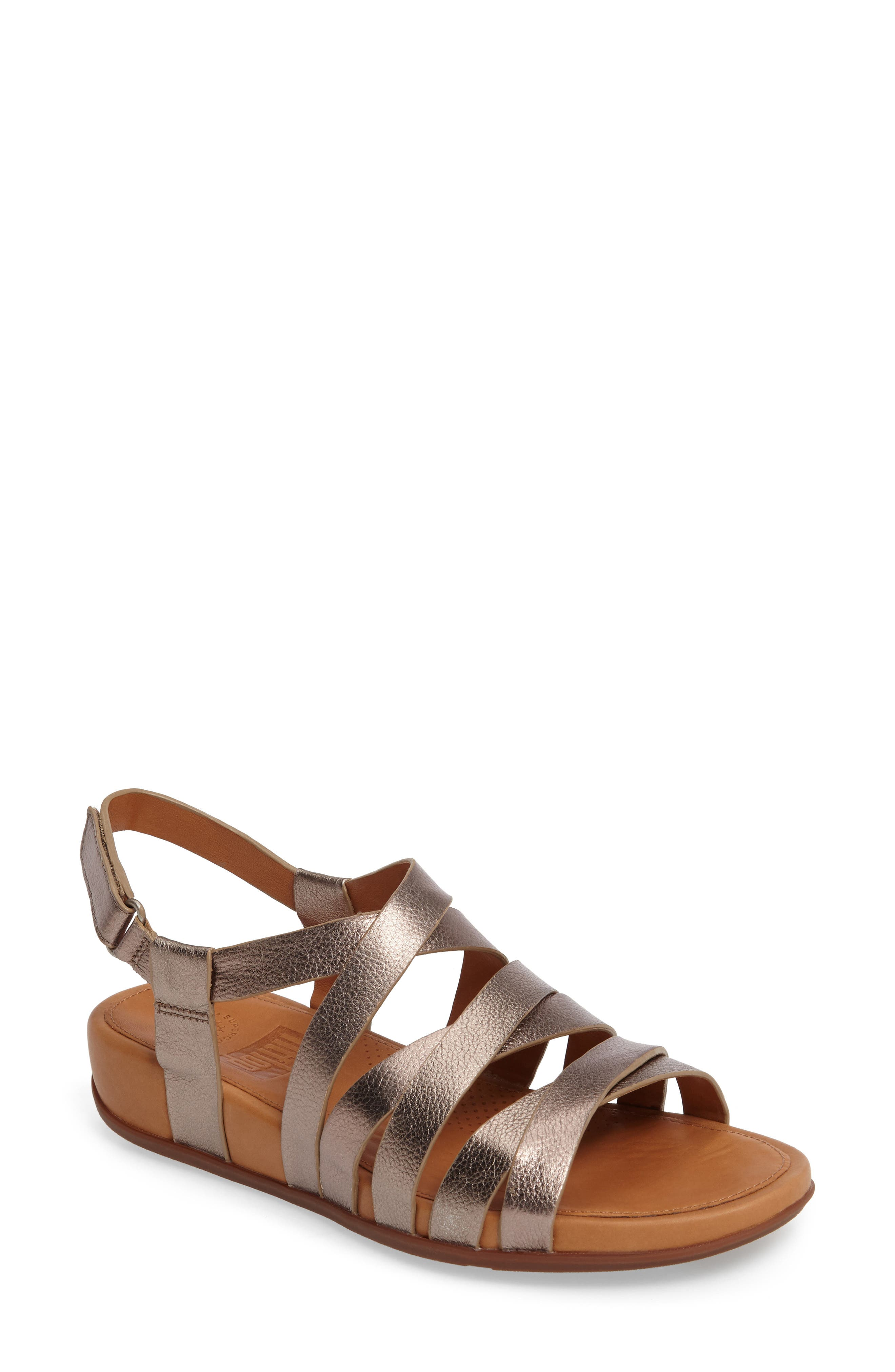 Alternate Image 1 Selected - FitFlop Lumy Gladiator Sandal (Women)