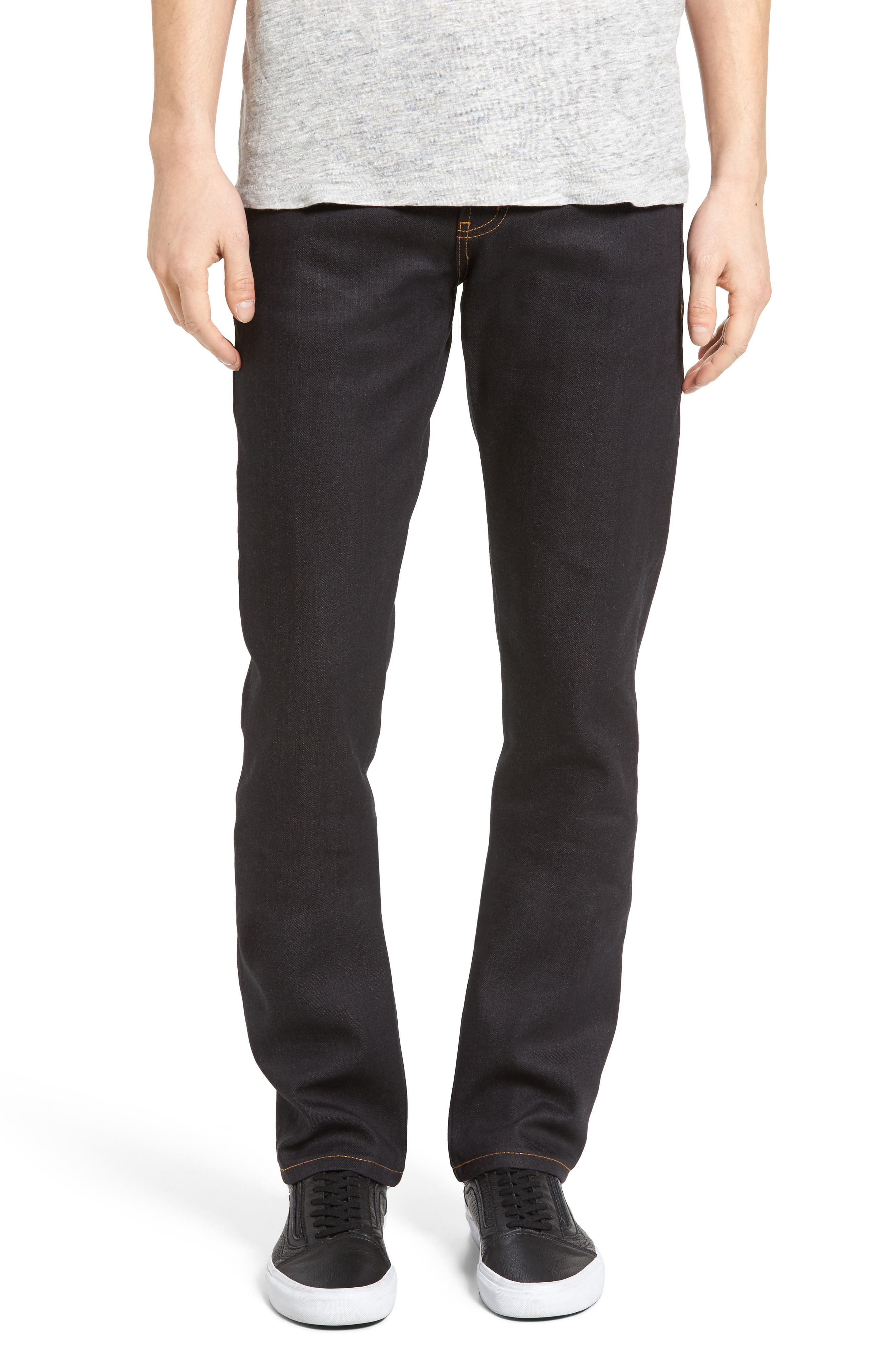 Naked & Famous Denim Skinny Guy Skinny Fit Selvedge Jeans