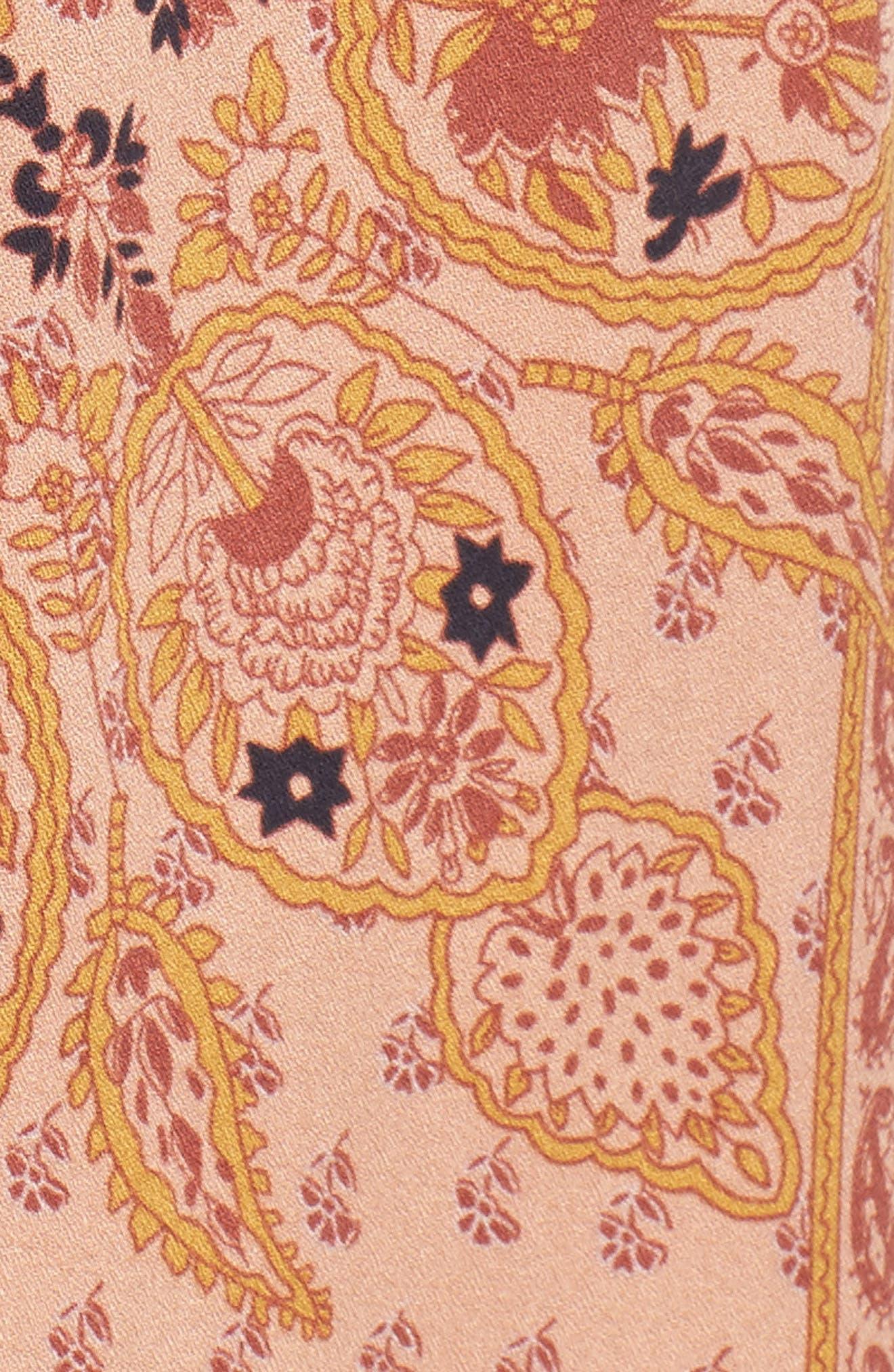 Alternate Image 5  - Knot Sisters Park Slope Cutout Midi Dress