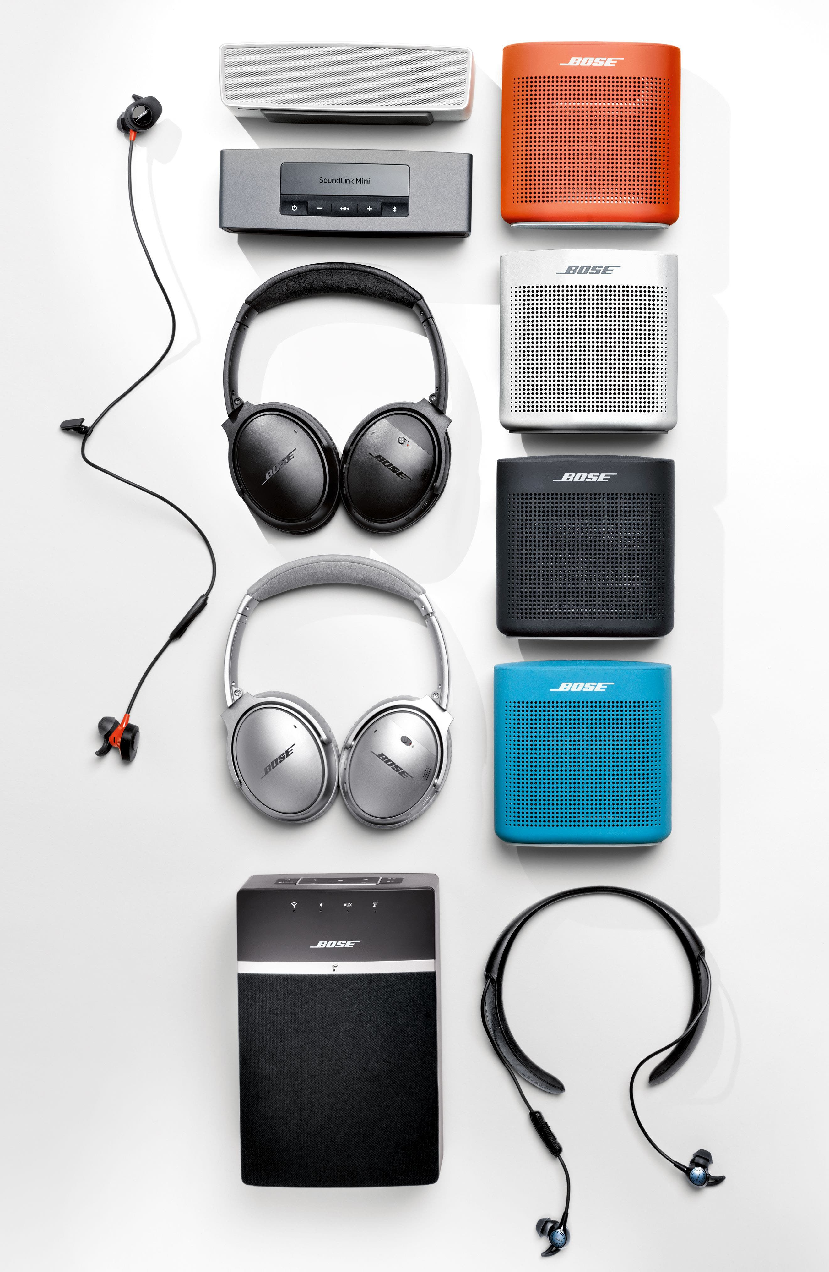 Alternate Image 16  - Bose® QuietComfort® 35 Acoustic Noise Cancelling® Bluetooth® Headphones