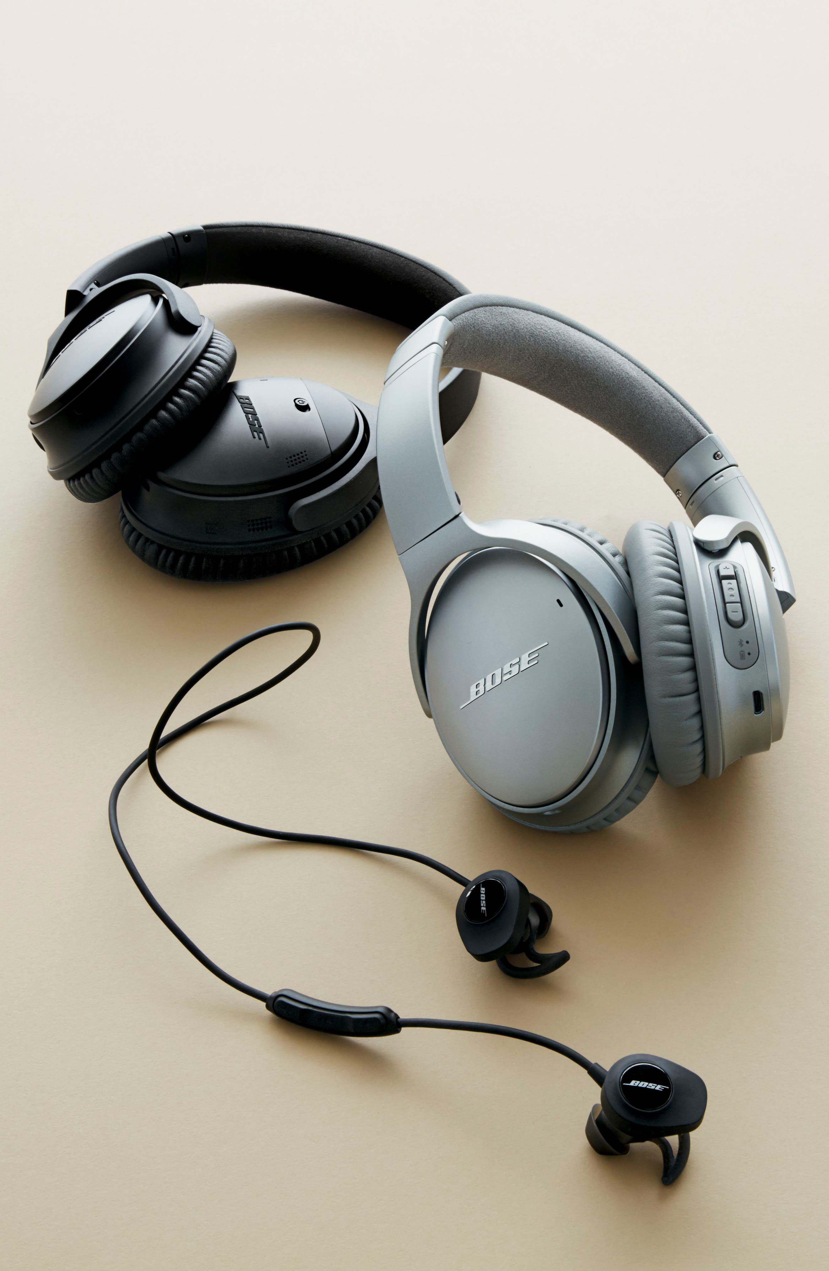 Alternate Image 17  - Bose® QuietComfort® 35 Acoustic Noise Cancelling® Bluetooth® Headphones