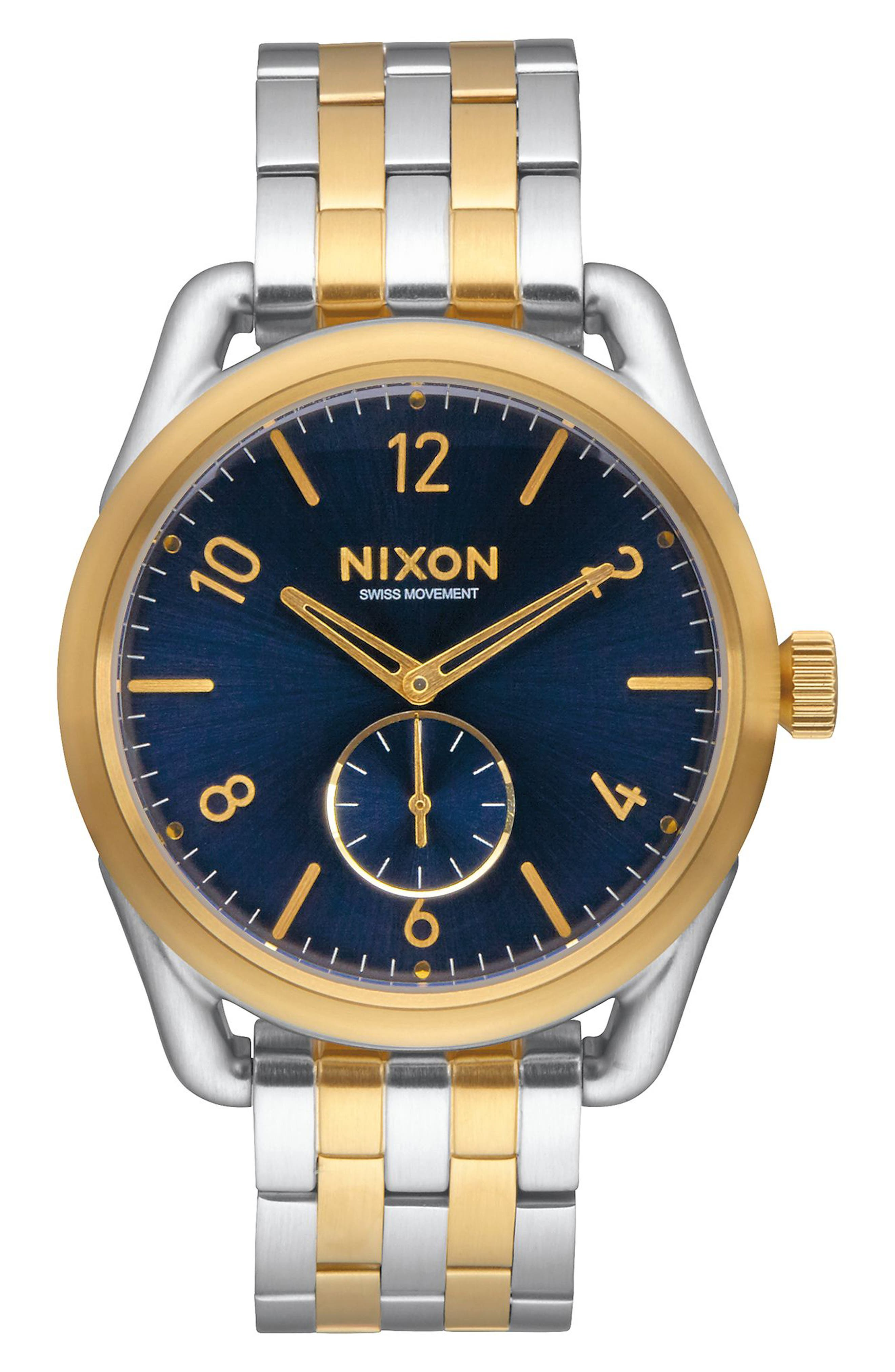 Nixon C39 Bracelet Watch, 39mm