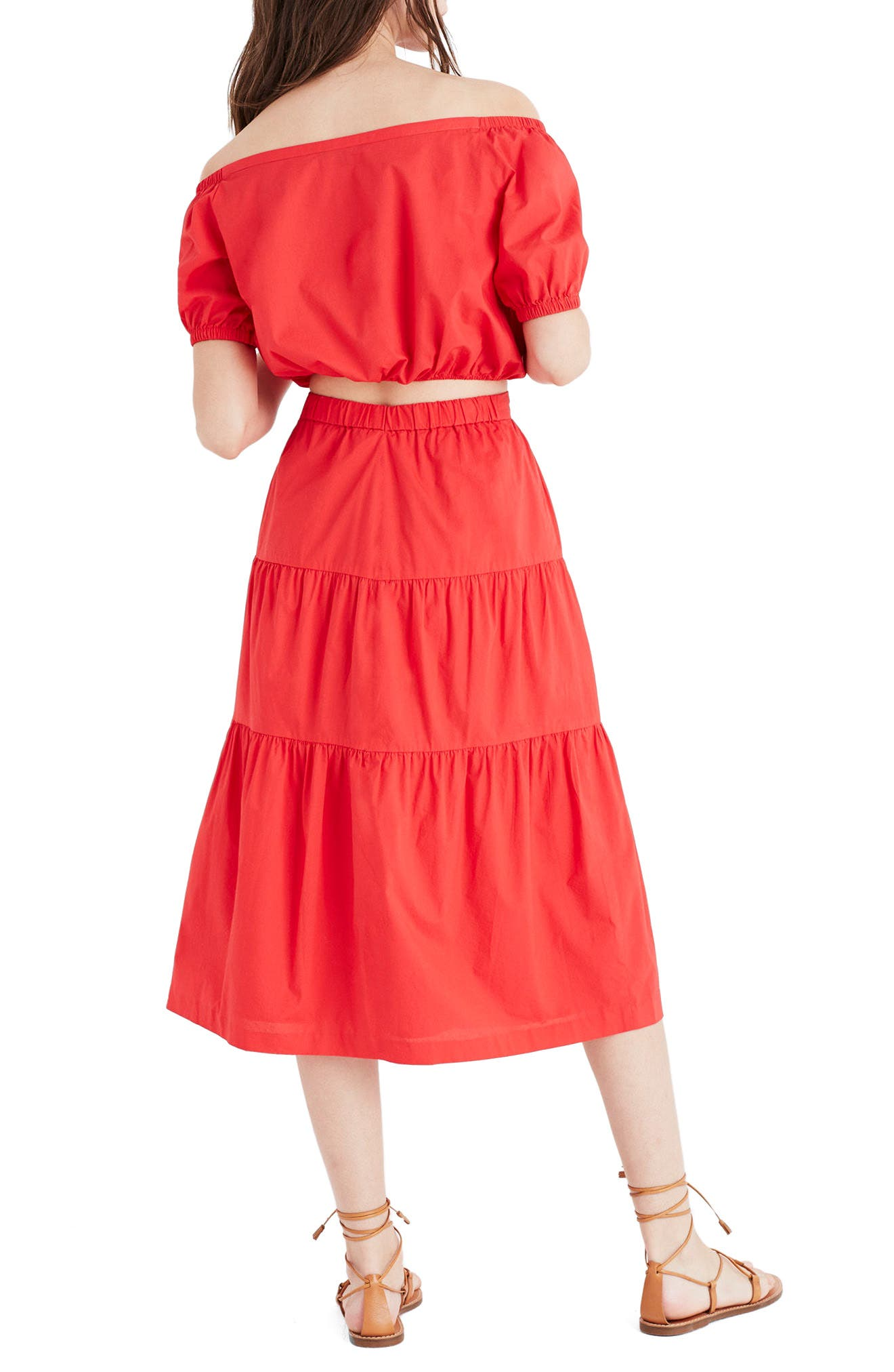 Alternate Image 3  - Madewell Bistro Midi Skirt