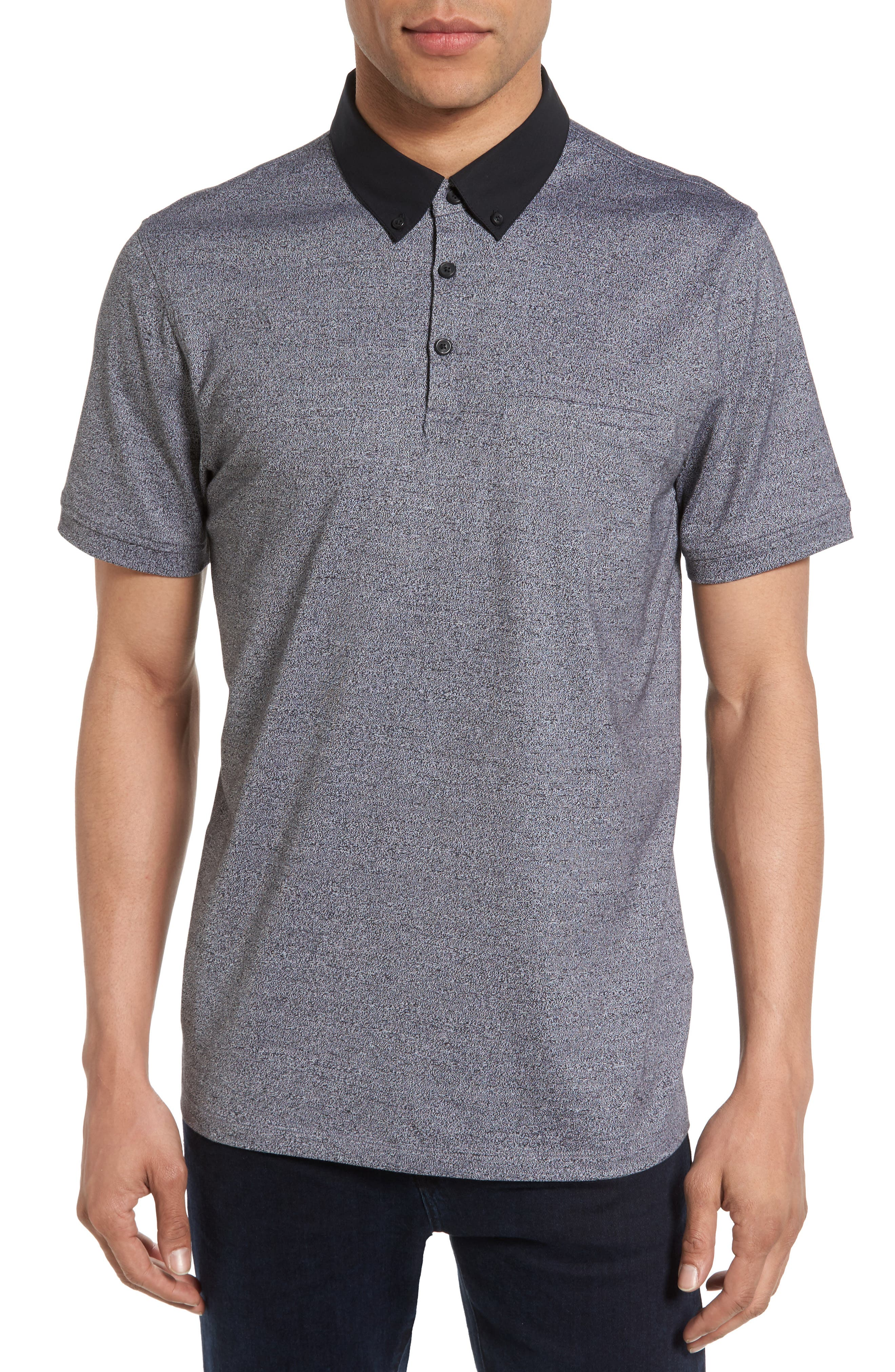 Calibrate Trim Fit Pocket Polo