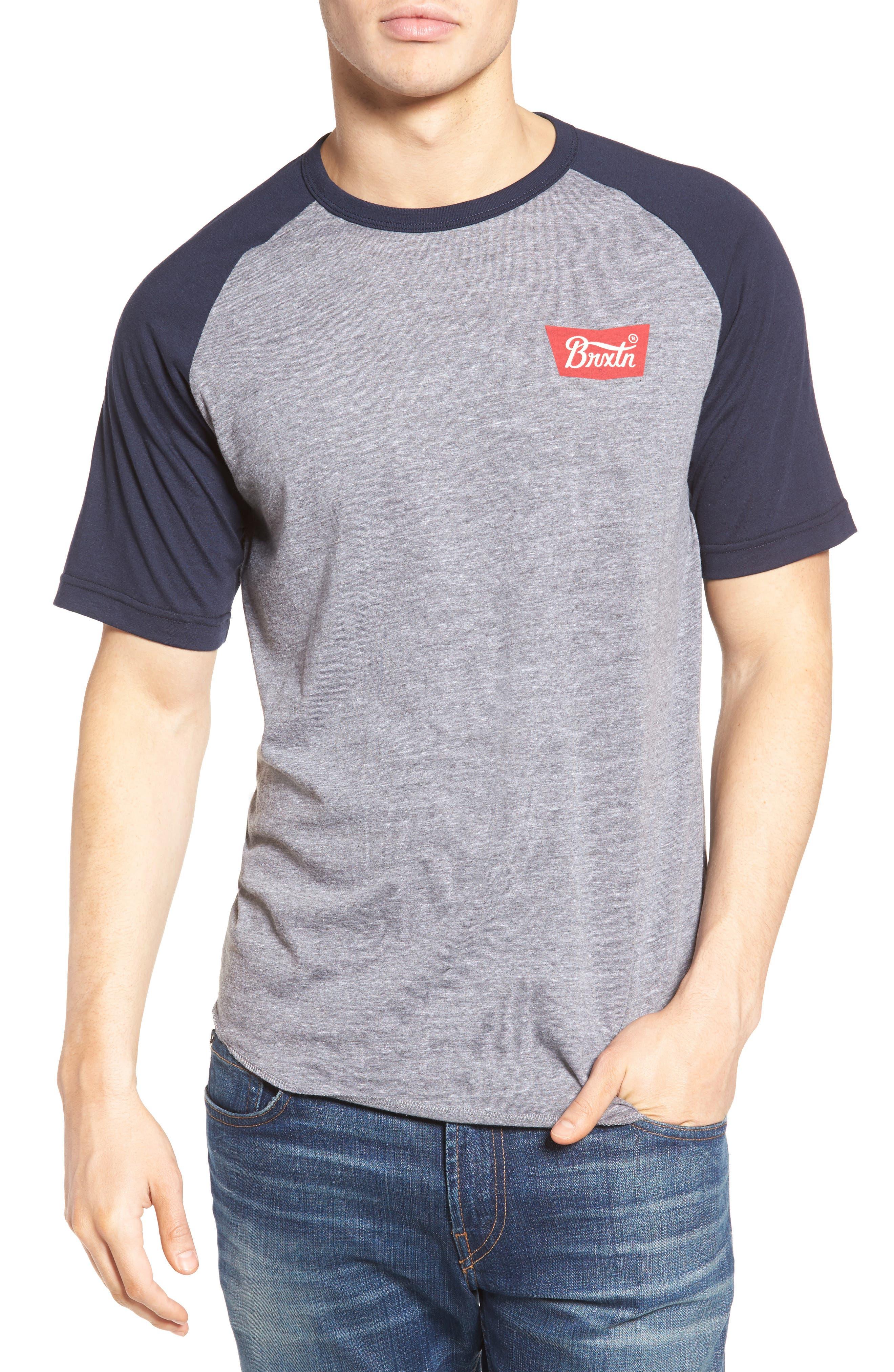 Brixton Stitch Logo T-Shirt