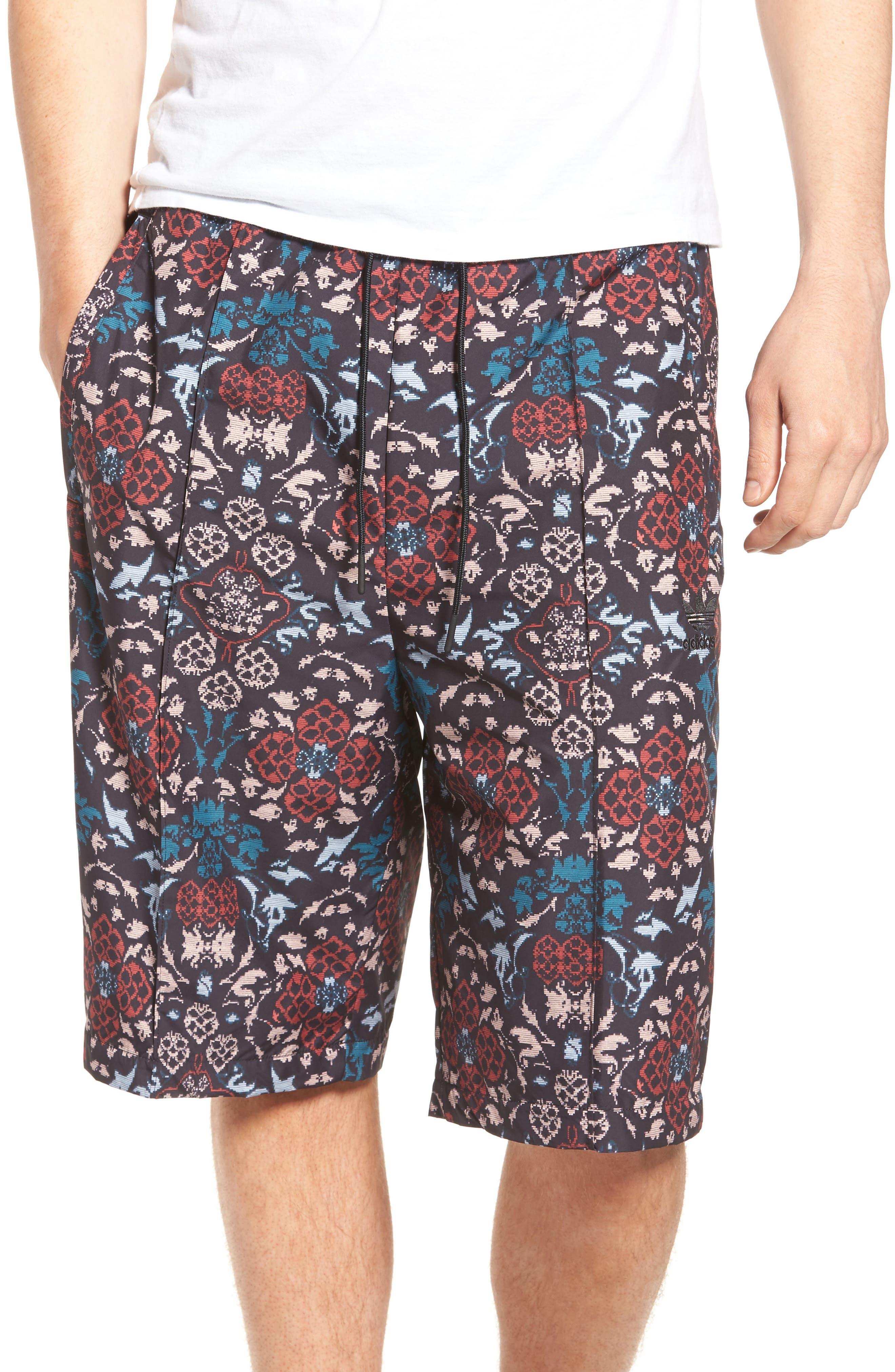 adidas Originals Print Drawstring Shorts