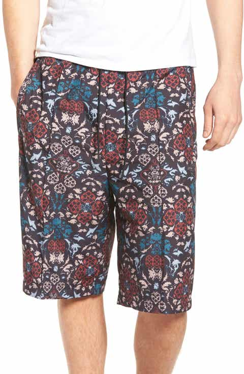 adidas Originals Print Drawstring Shorts