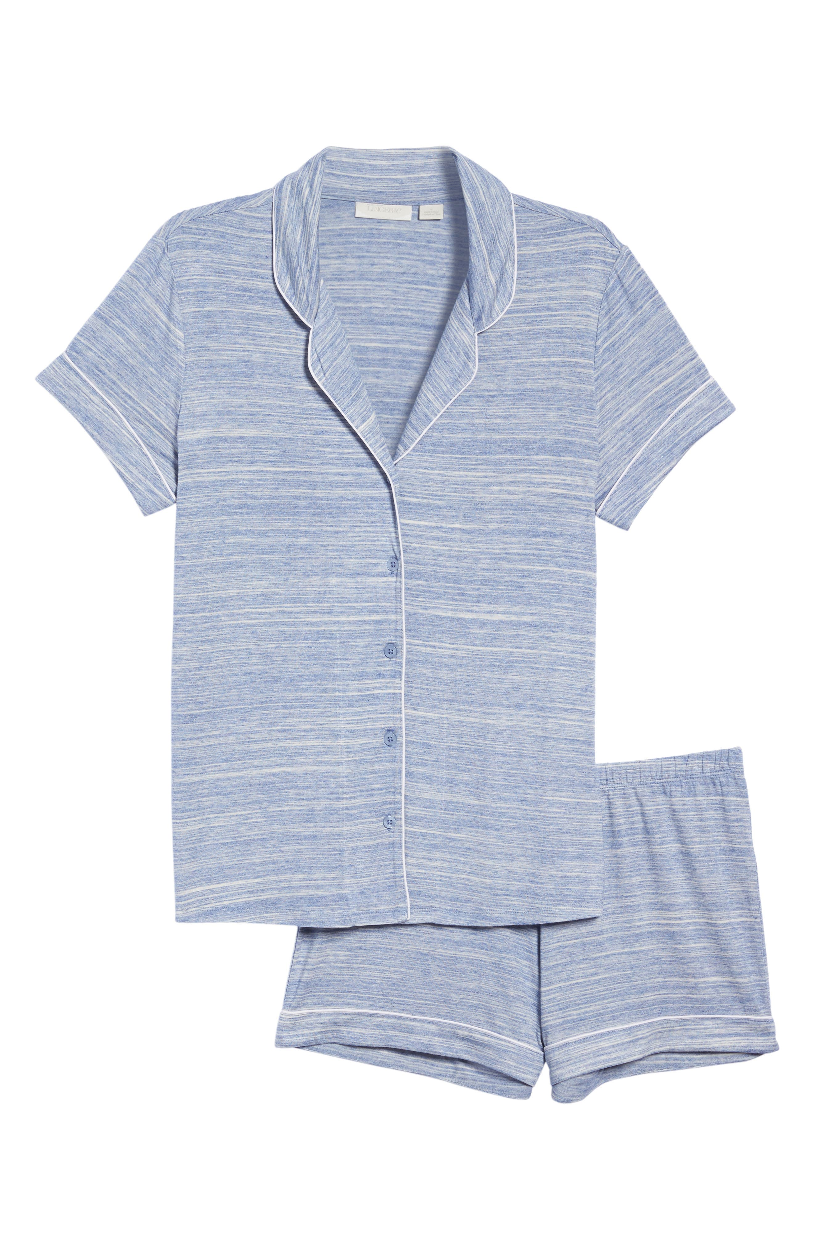 Alternate Image 4  - Nordstrom Lingerie 'Moonlight' Short Pajamas