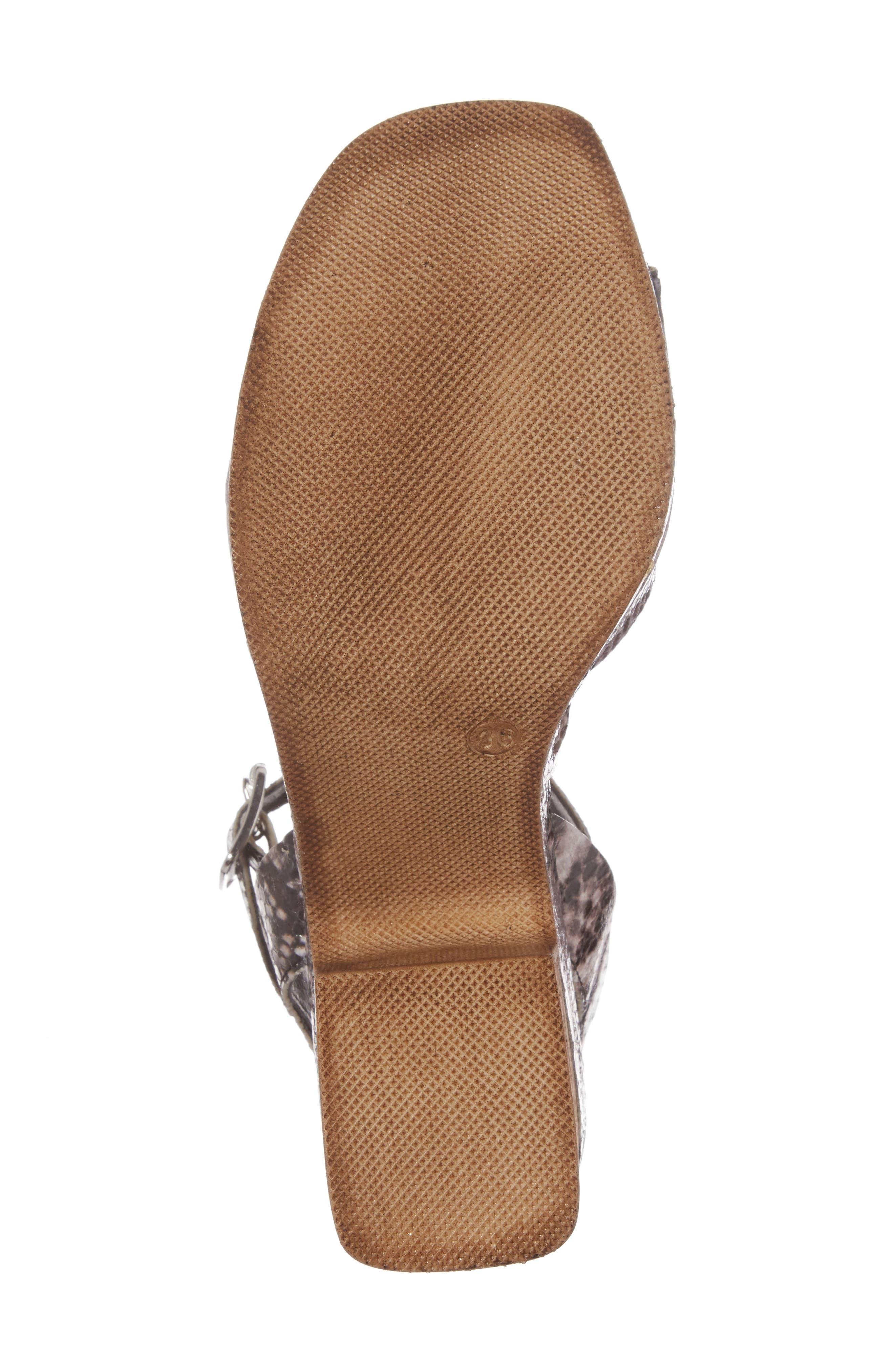 Alternate Image 6  - Topshop Violets Platform Sandals (Women)