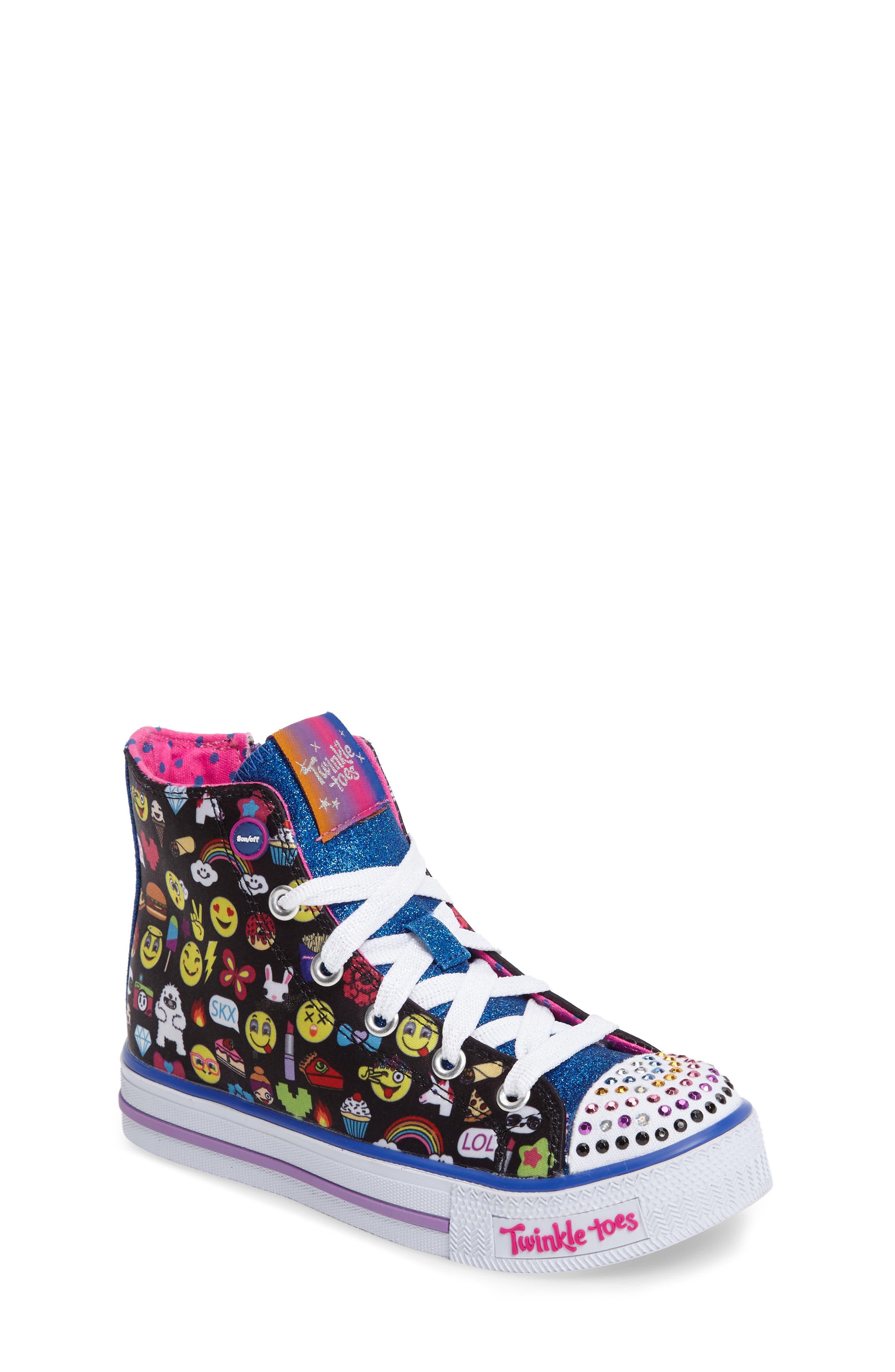 SKECHERS 'Twinkle Toes' Light-Up Sneaker (Little Kid)
