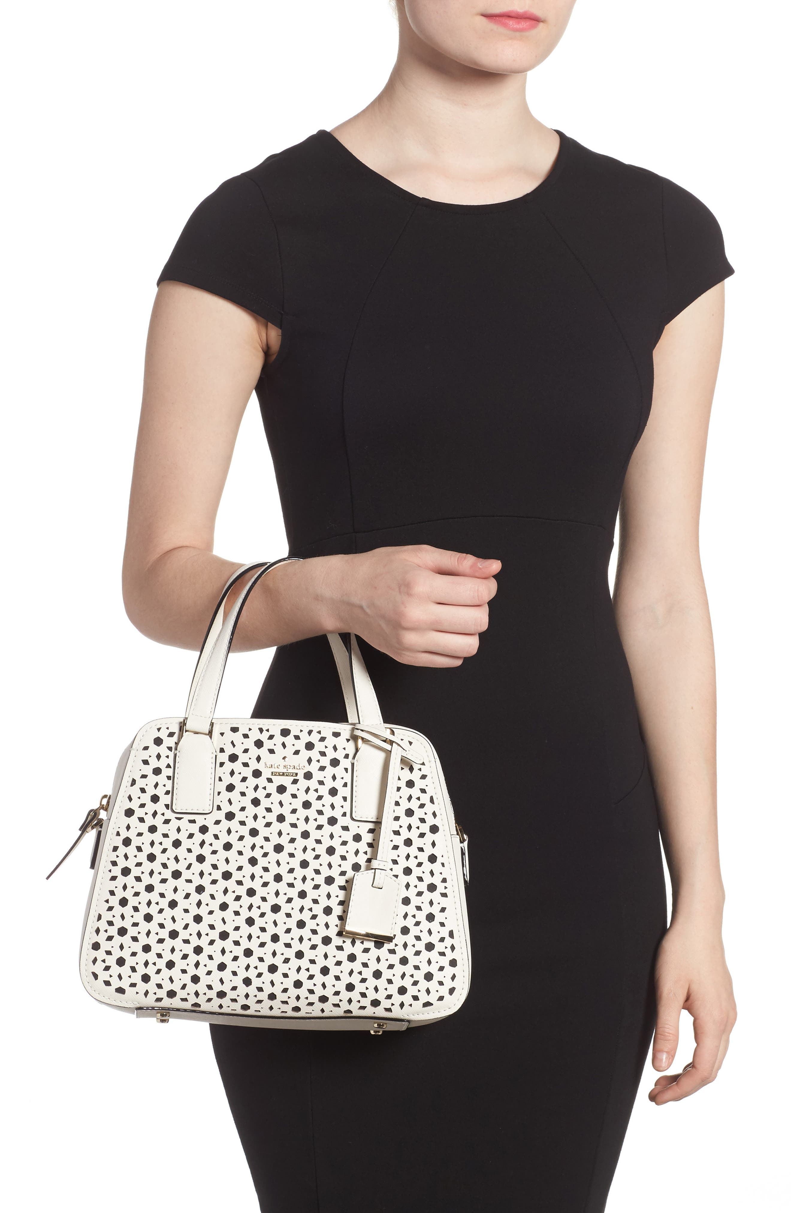 Alternate Image 2  - kate spade new york cameron street perforated little babe leather satchel