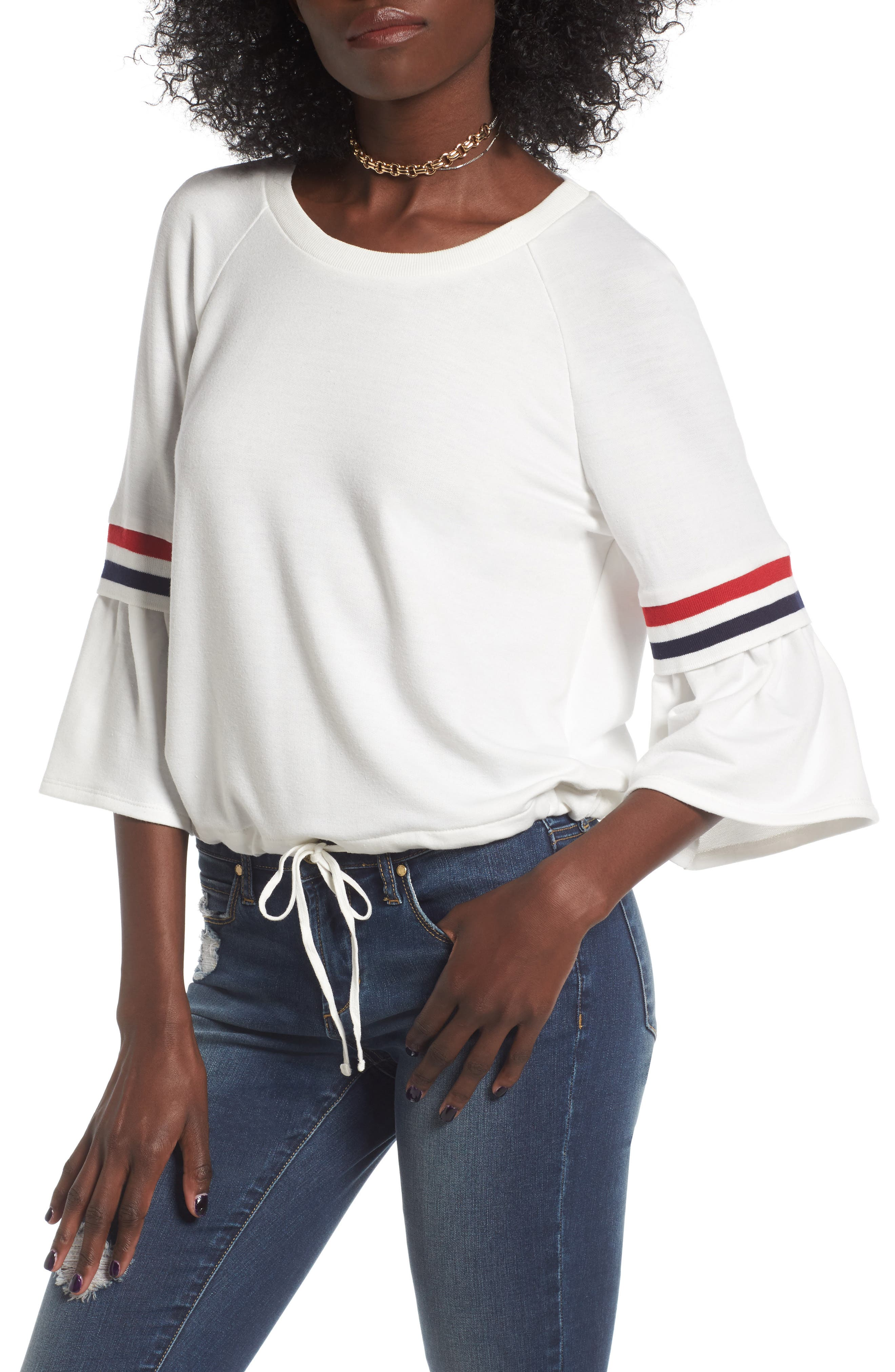 Main Image - Elodie Stripe Sweatshirt