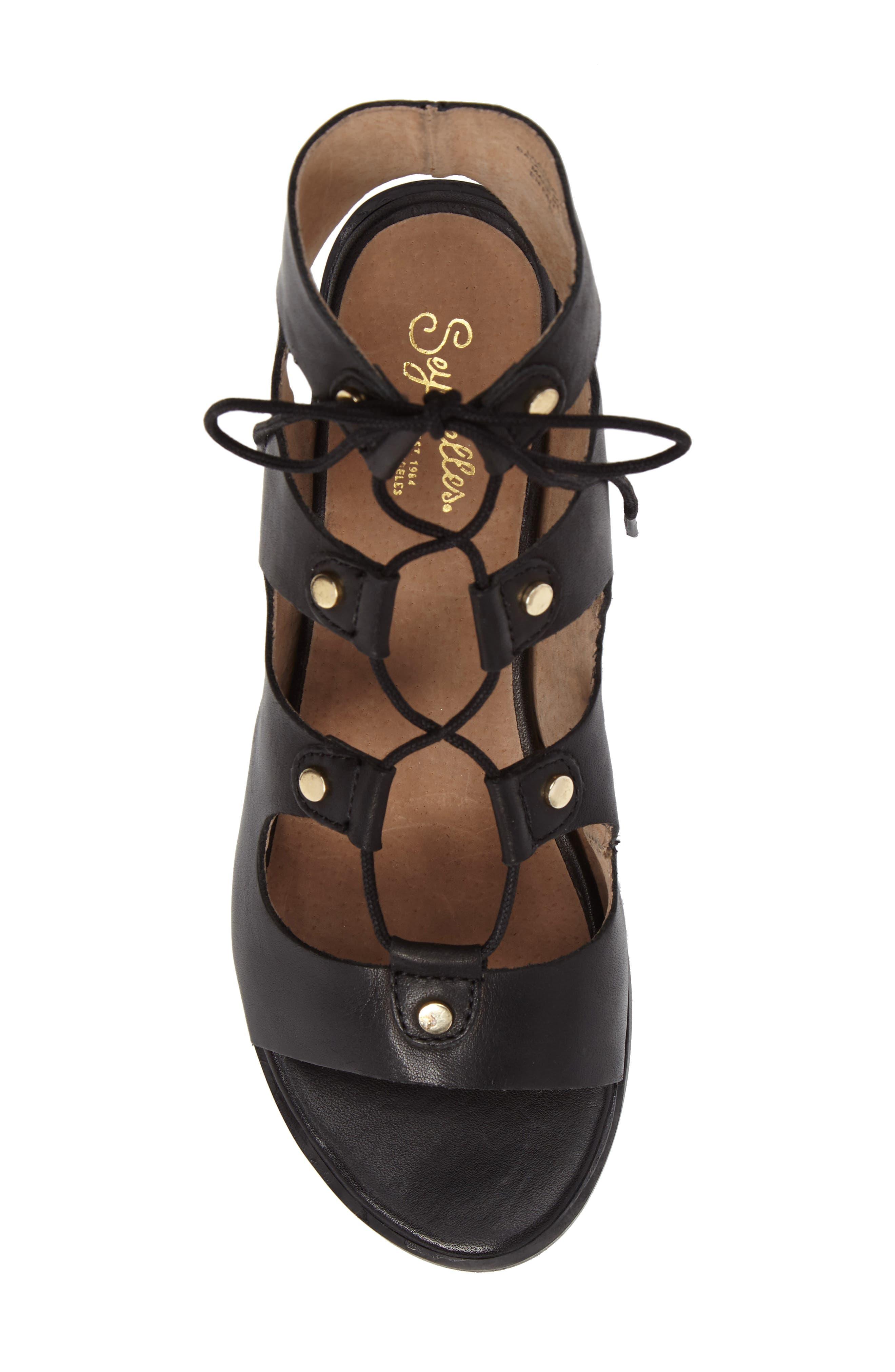 Alternate Image 5  - Seychelles Love Affair Lace-Up Sandal (Women)