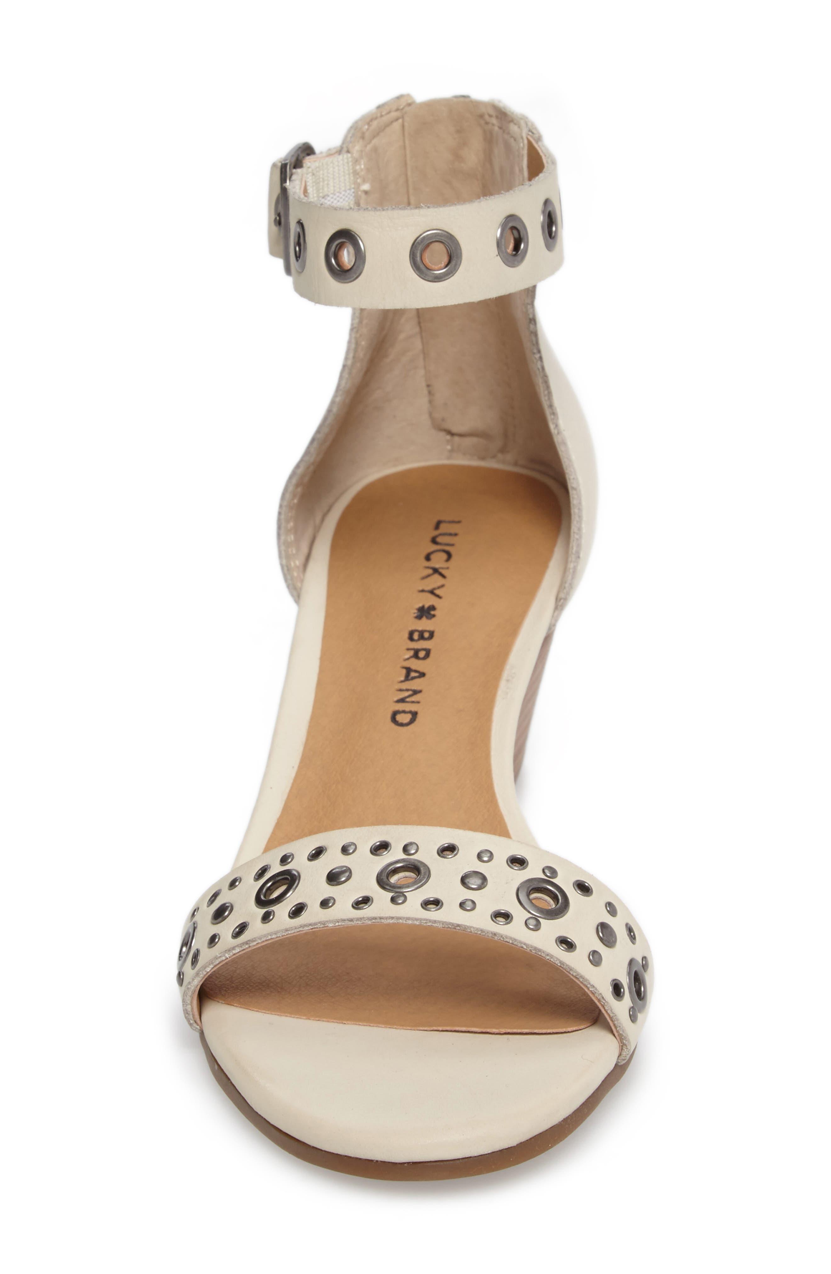 Alternate Image 4  - Lucky Brand Jorey Ankle Strap Wedge Sandal (Women)