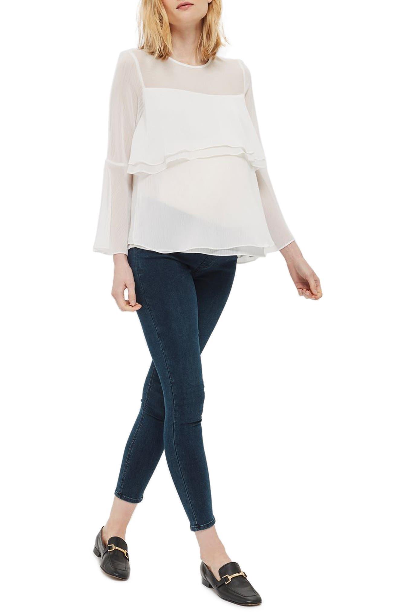 Topshop Joni Skinny Maternity Jeans