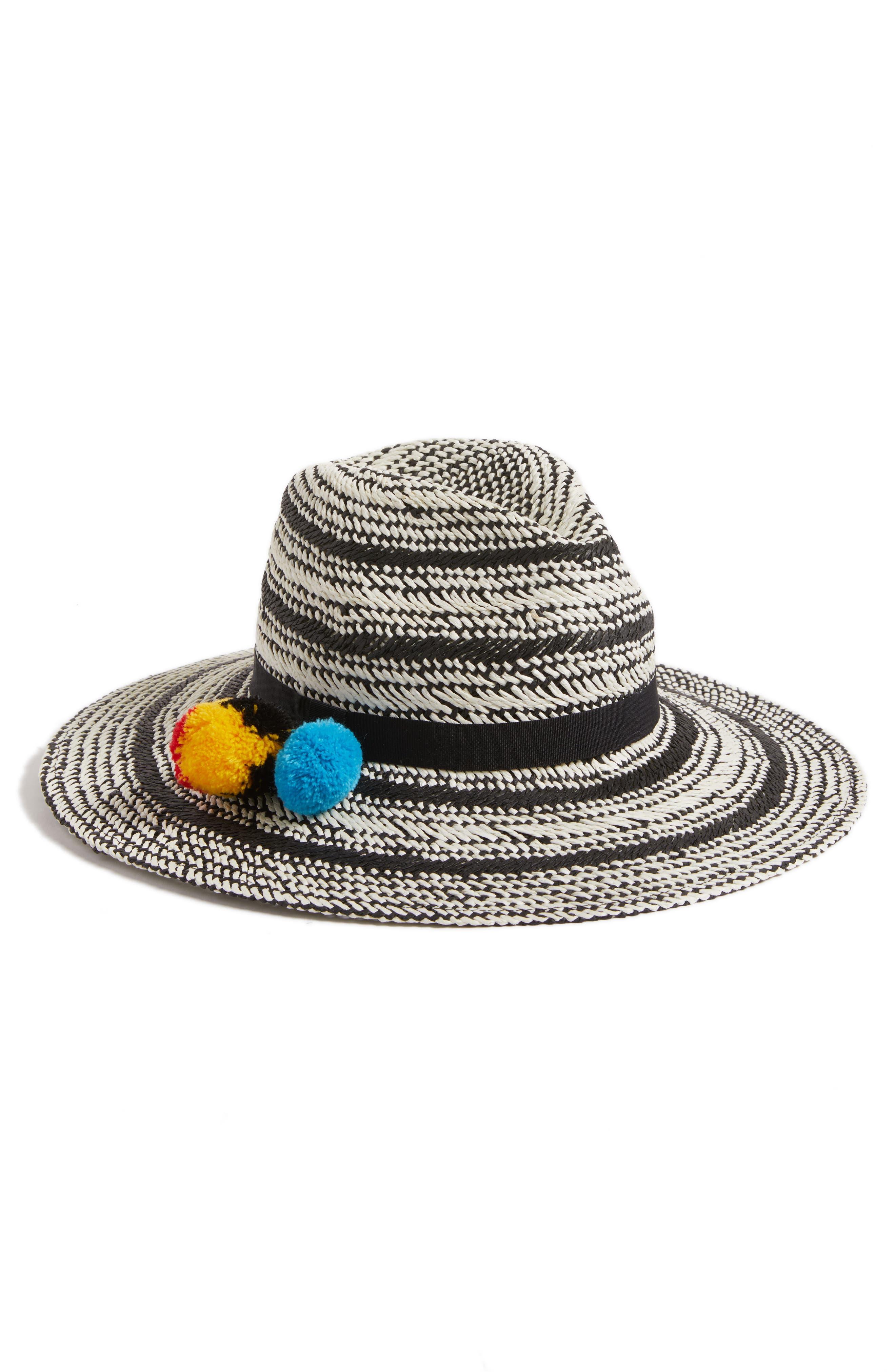 Hinge Two Tone Panama Hat
