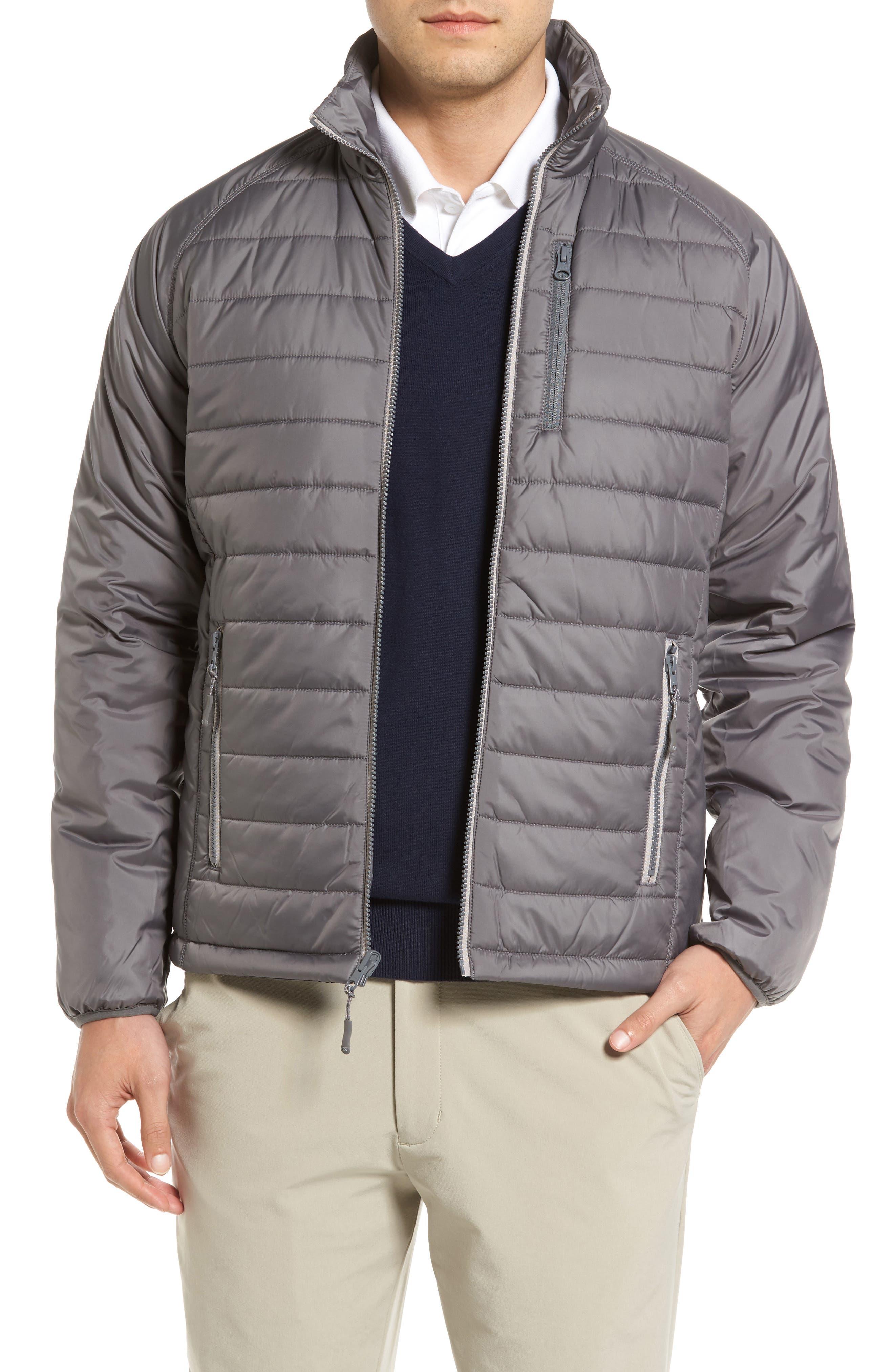 Cutter & Buck Barlow Pass Quilted Jacket (Big & Tall)