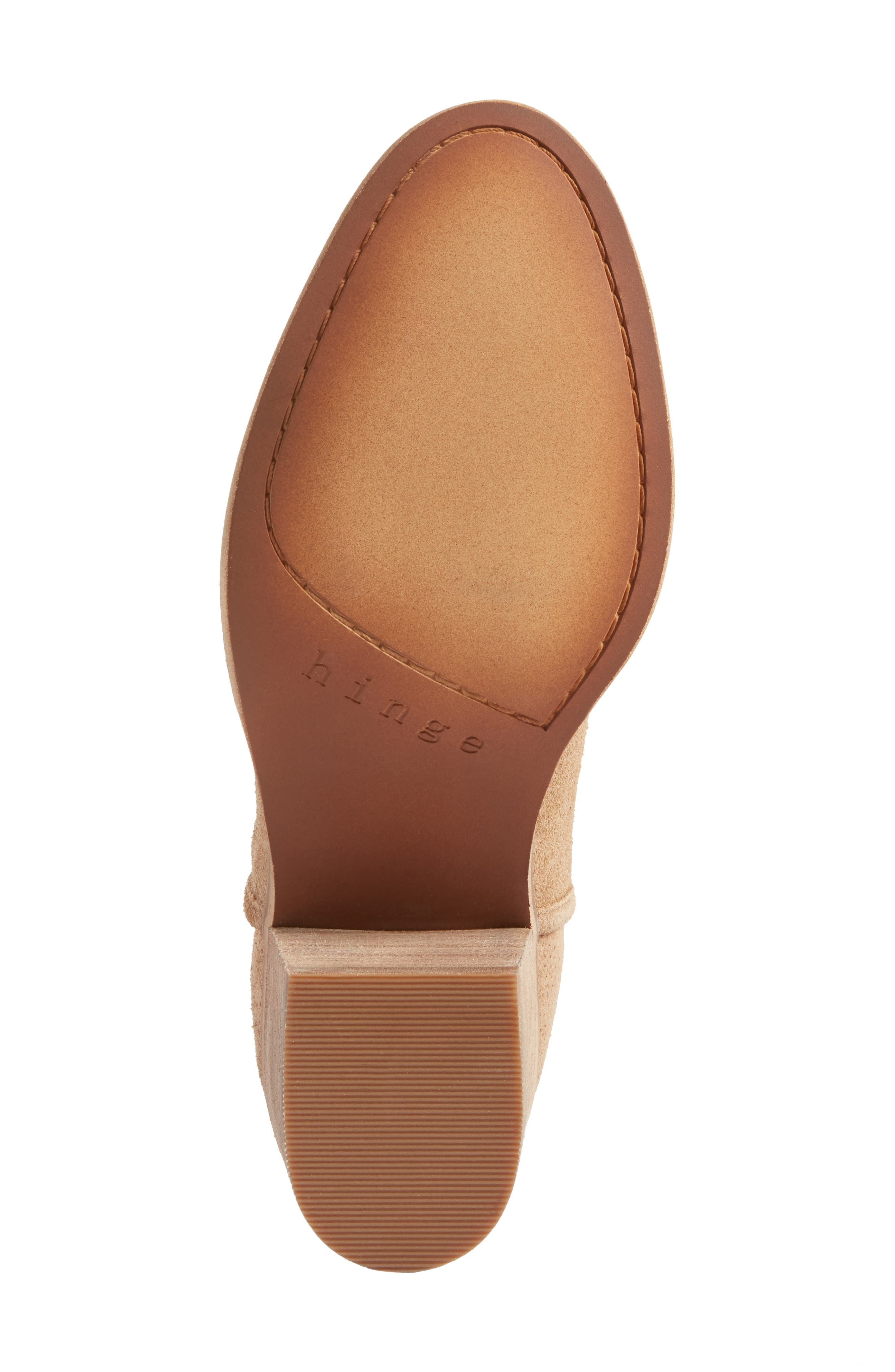 Alternate Image 6  - Hinge Barris Block Heel Bootie (Women)