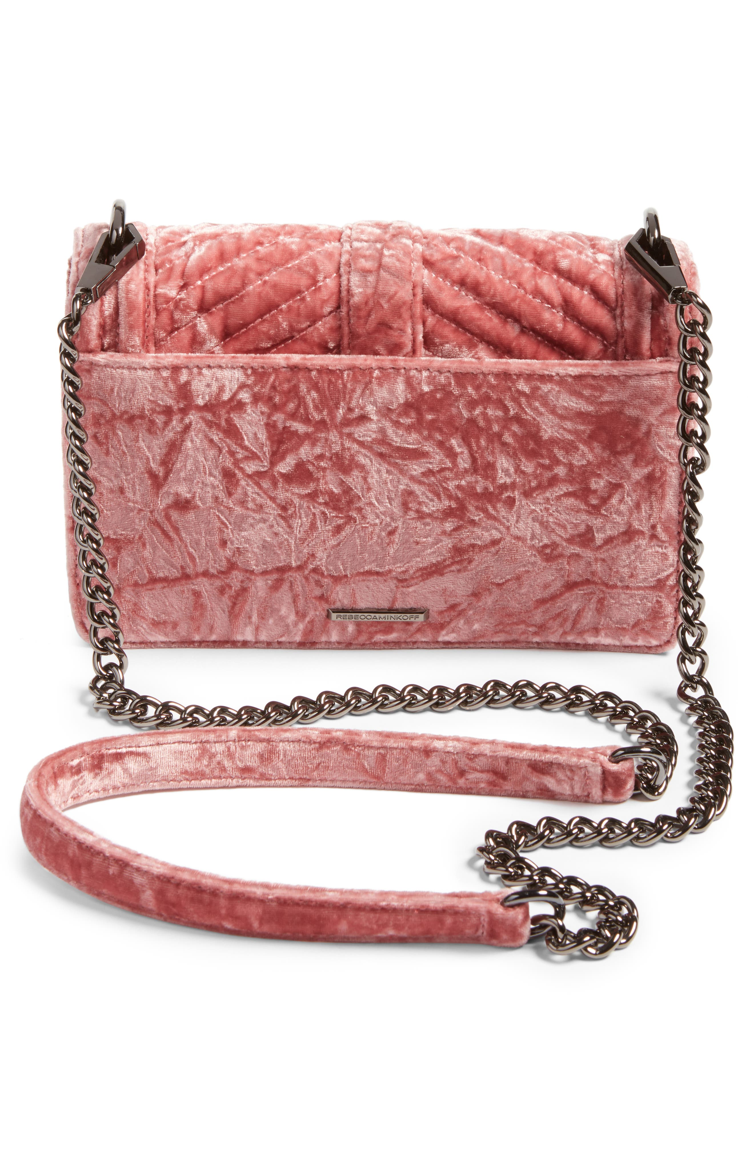 Alternate Image 3  - Rebecca Minkoff Small Love Velvet Crossbody Bag (Nordstrom Exclusive)