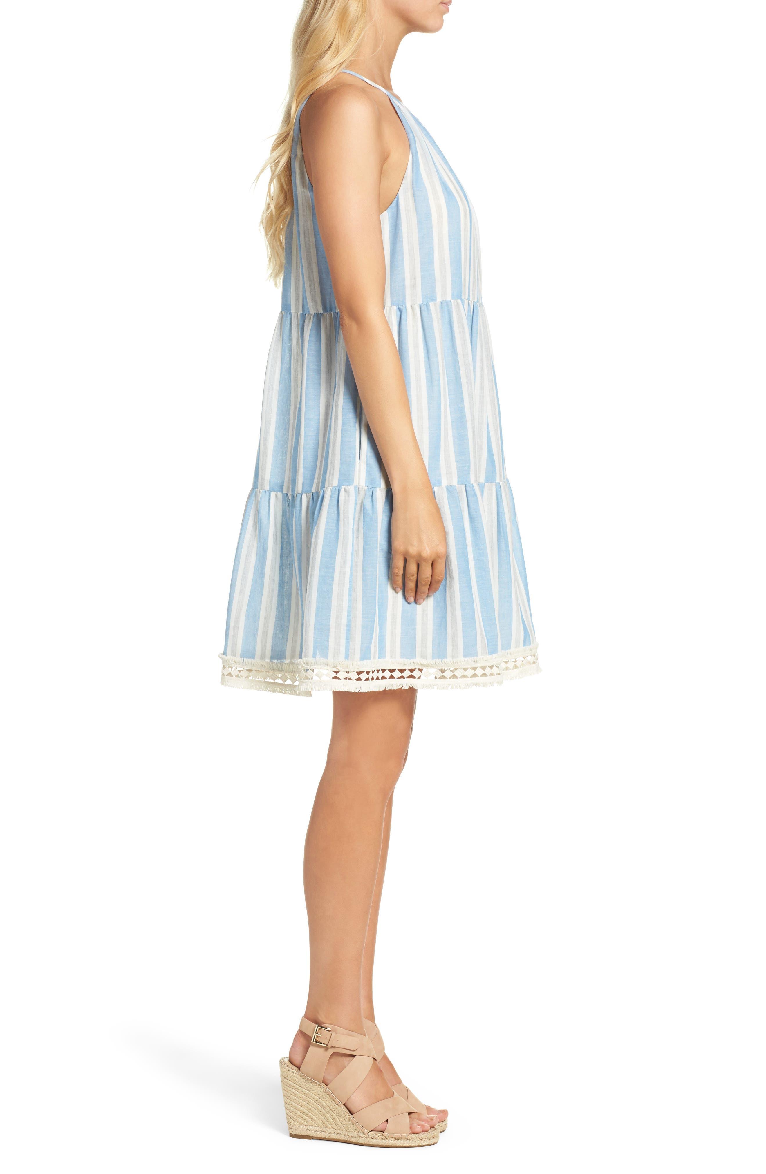 Alternate Image 3  - Maggy London Stripe Shift Dress (Regular & Petite)