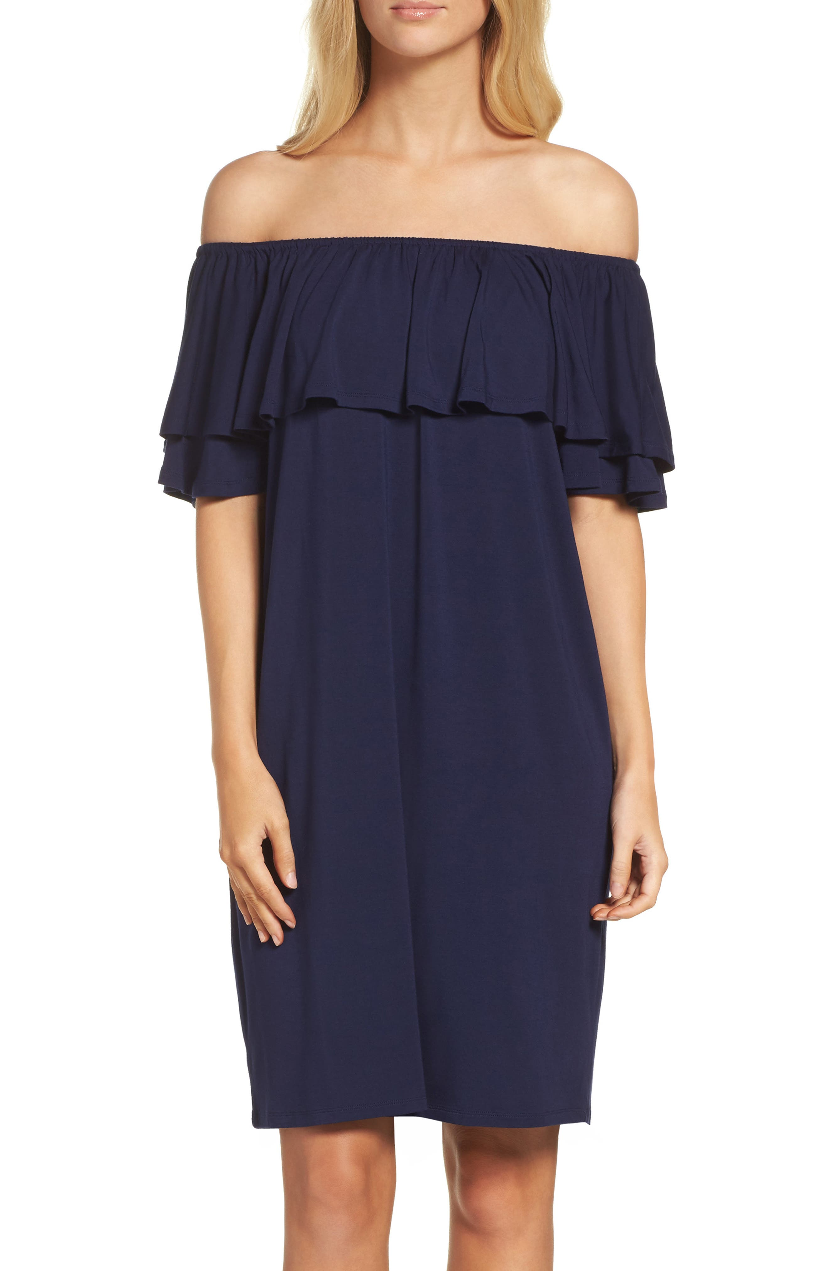 Felicity & Coco Off the Shoulder Dress (Regular & Petite) (Nordstrom Exclusive)