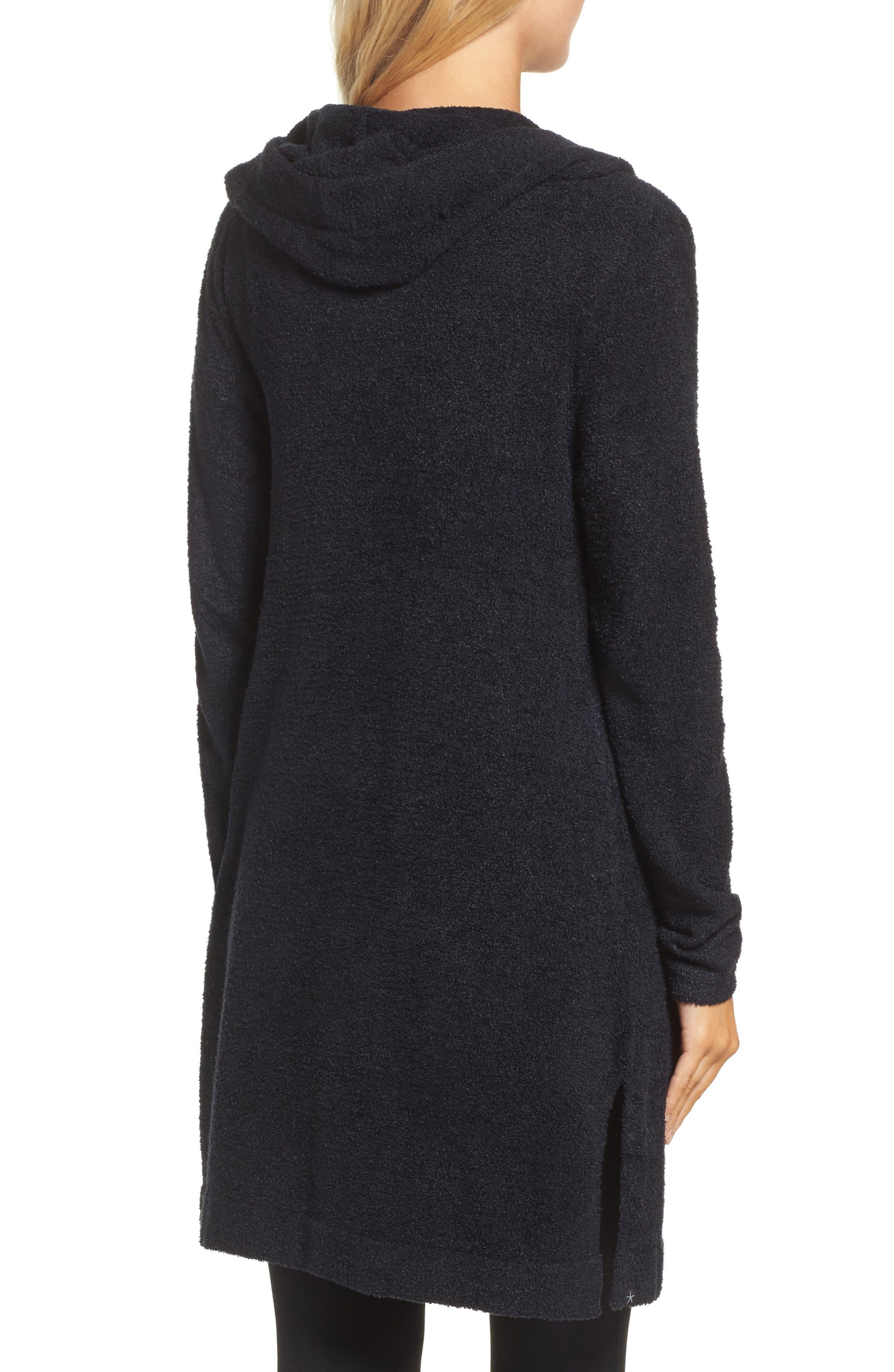 Alternate Image 2  - Barefoot Dreams® Cozychic Lite® Coastal Hooded Cardigan