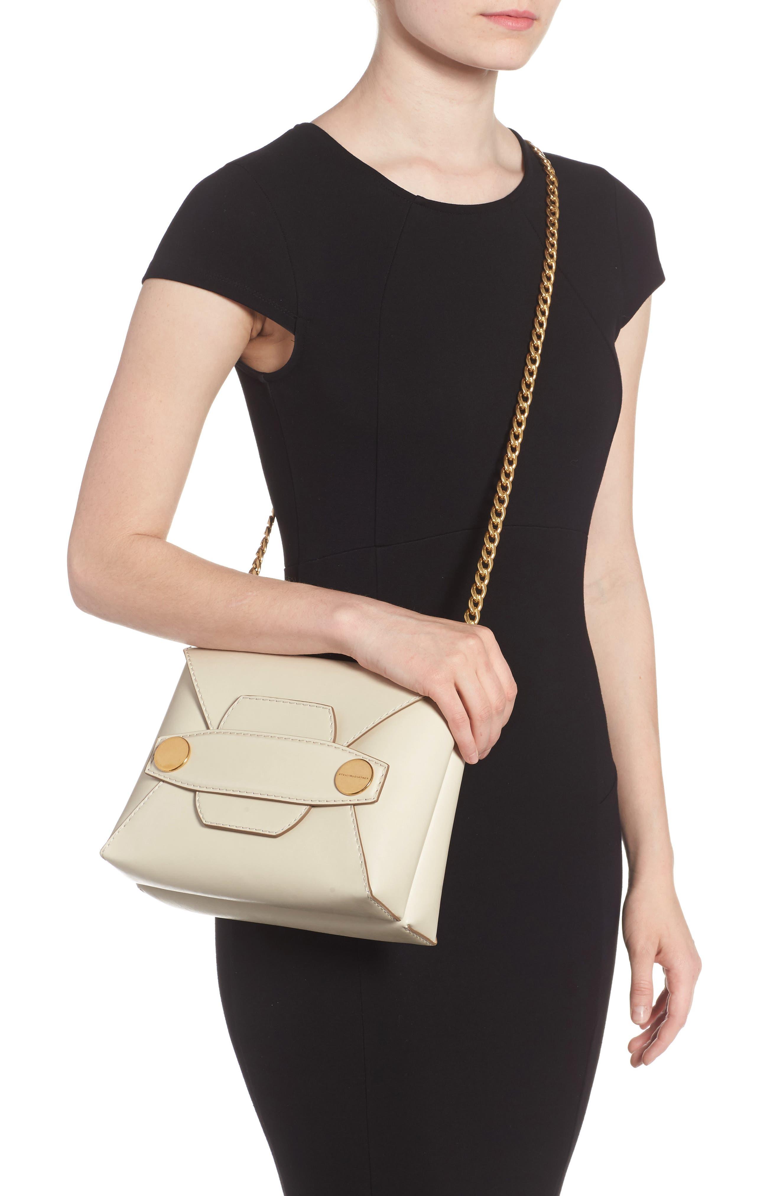 Alternate Image 2  - Stella McCartney Small Faux Leather Crossbody Bag