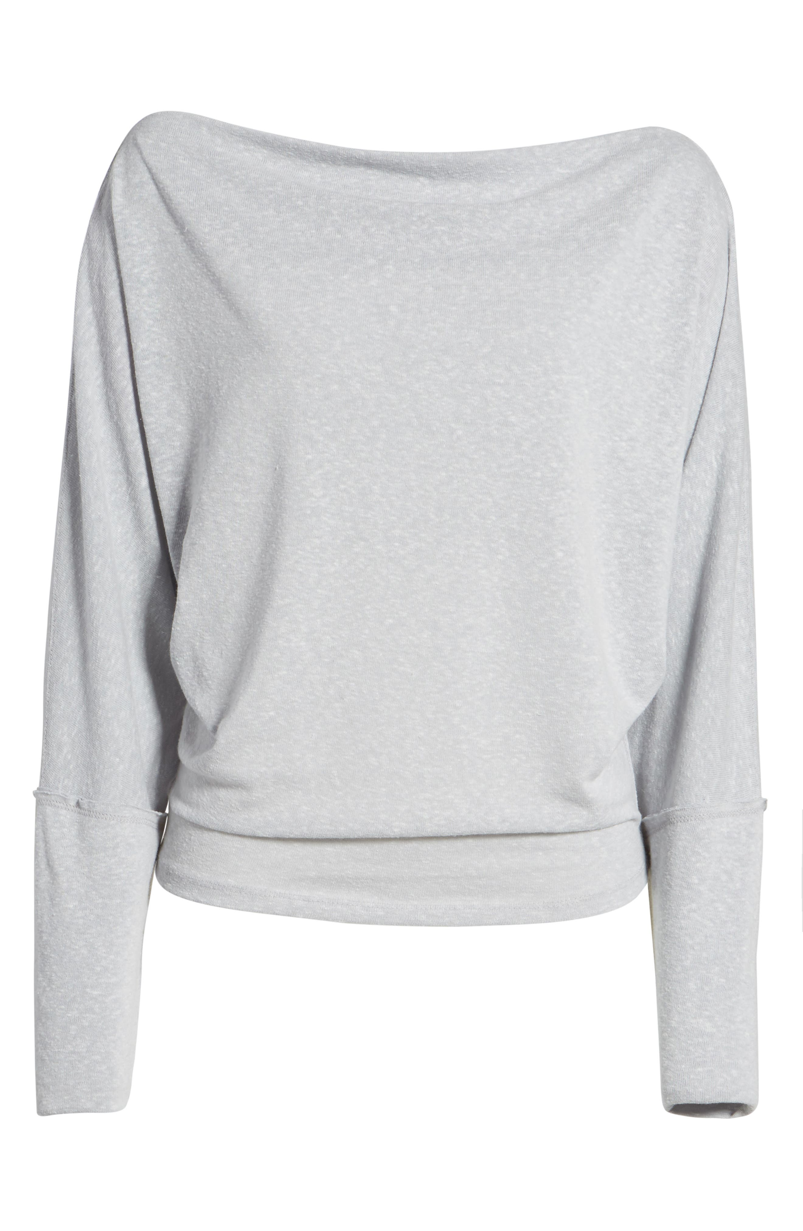 Alternate Image 6  - Free People Valencia Off the Shoulder Pullover