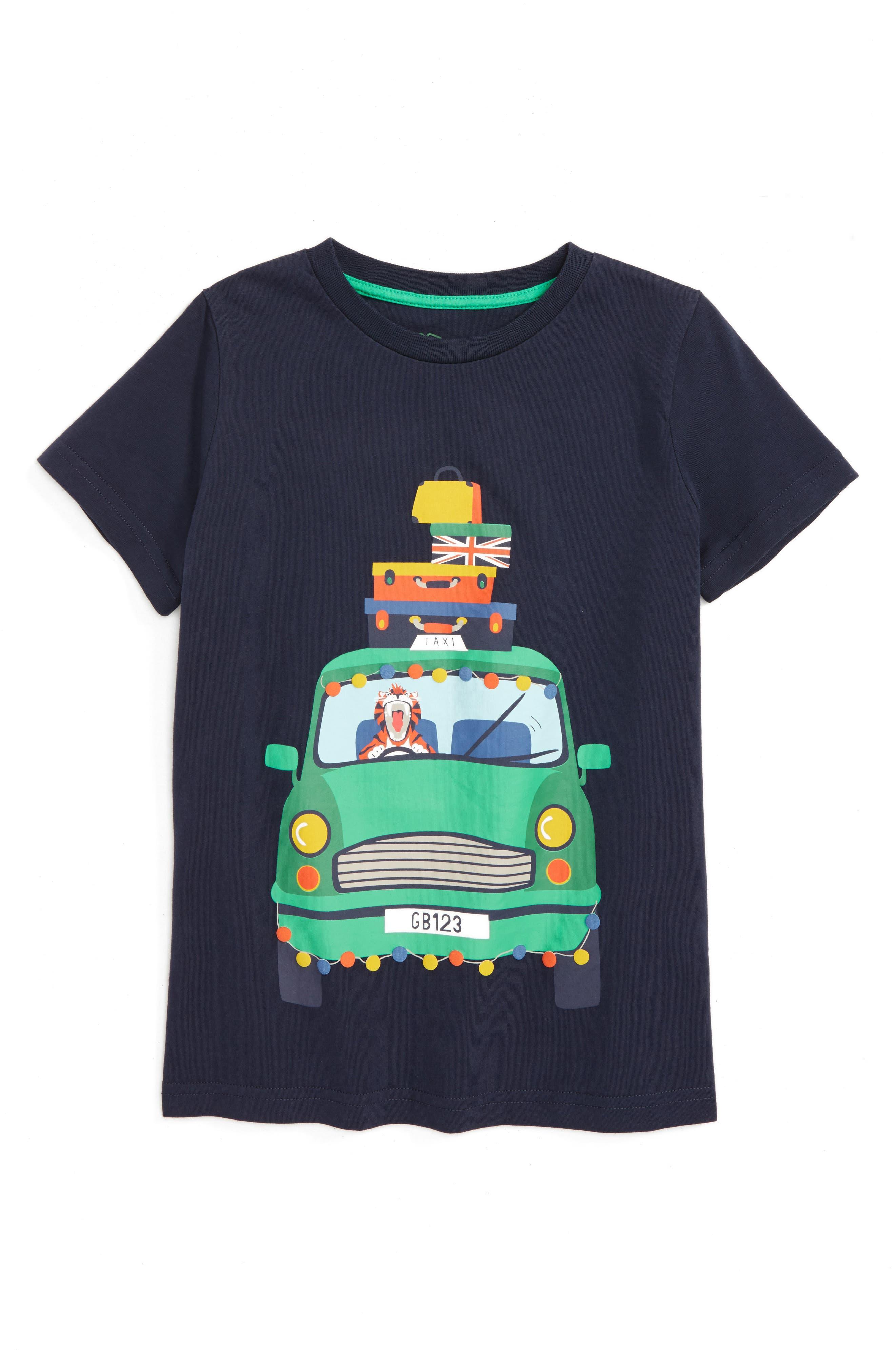 Mini Boden Animal Antics T-Shirt (Toddler Boys, Little Boys & Big Boys)