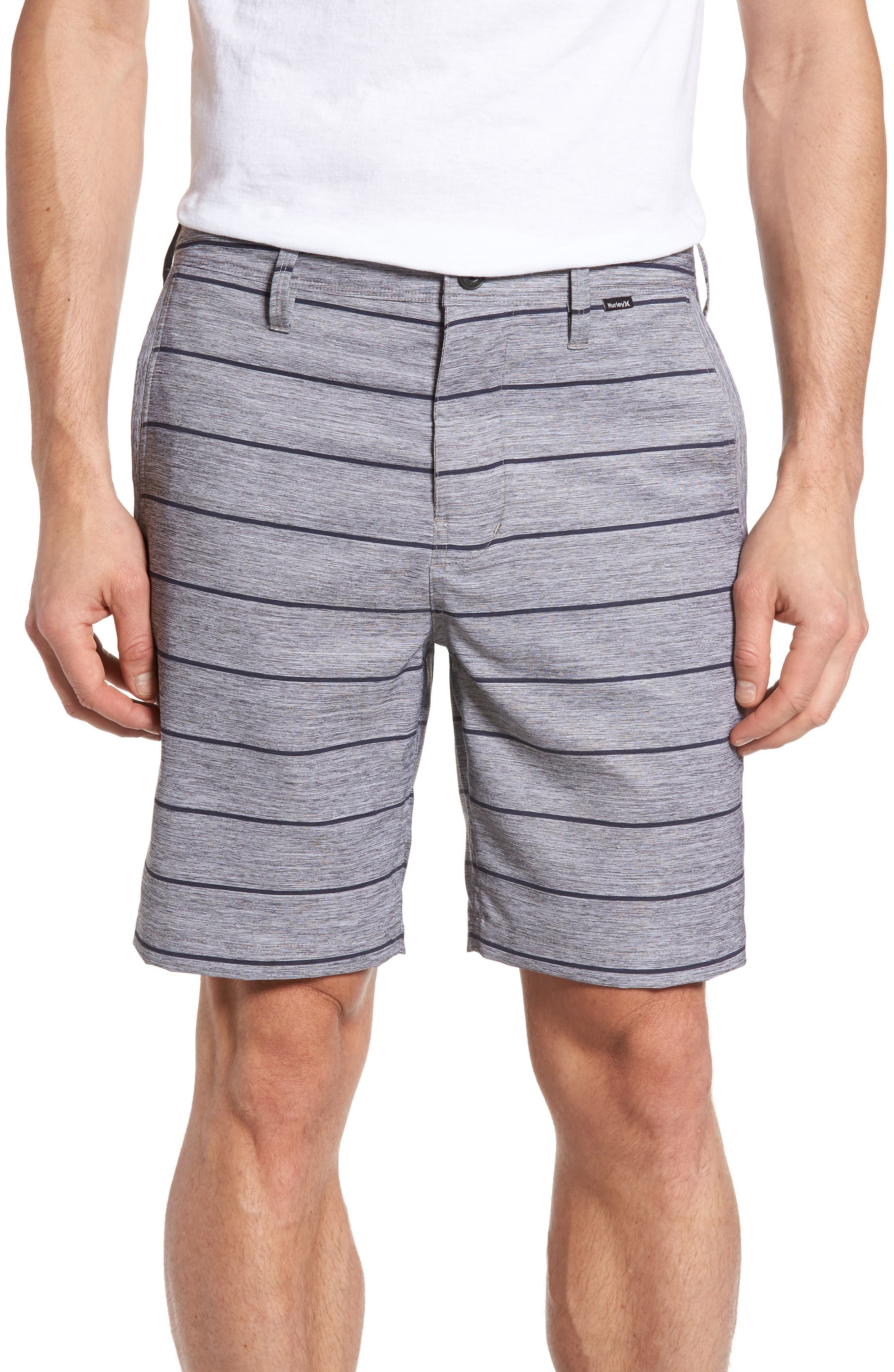 Hurley Stripe Dri-FIT Shorts