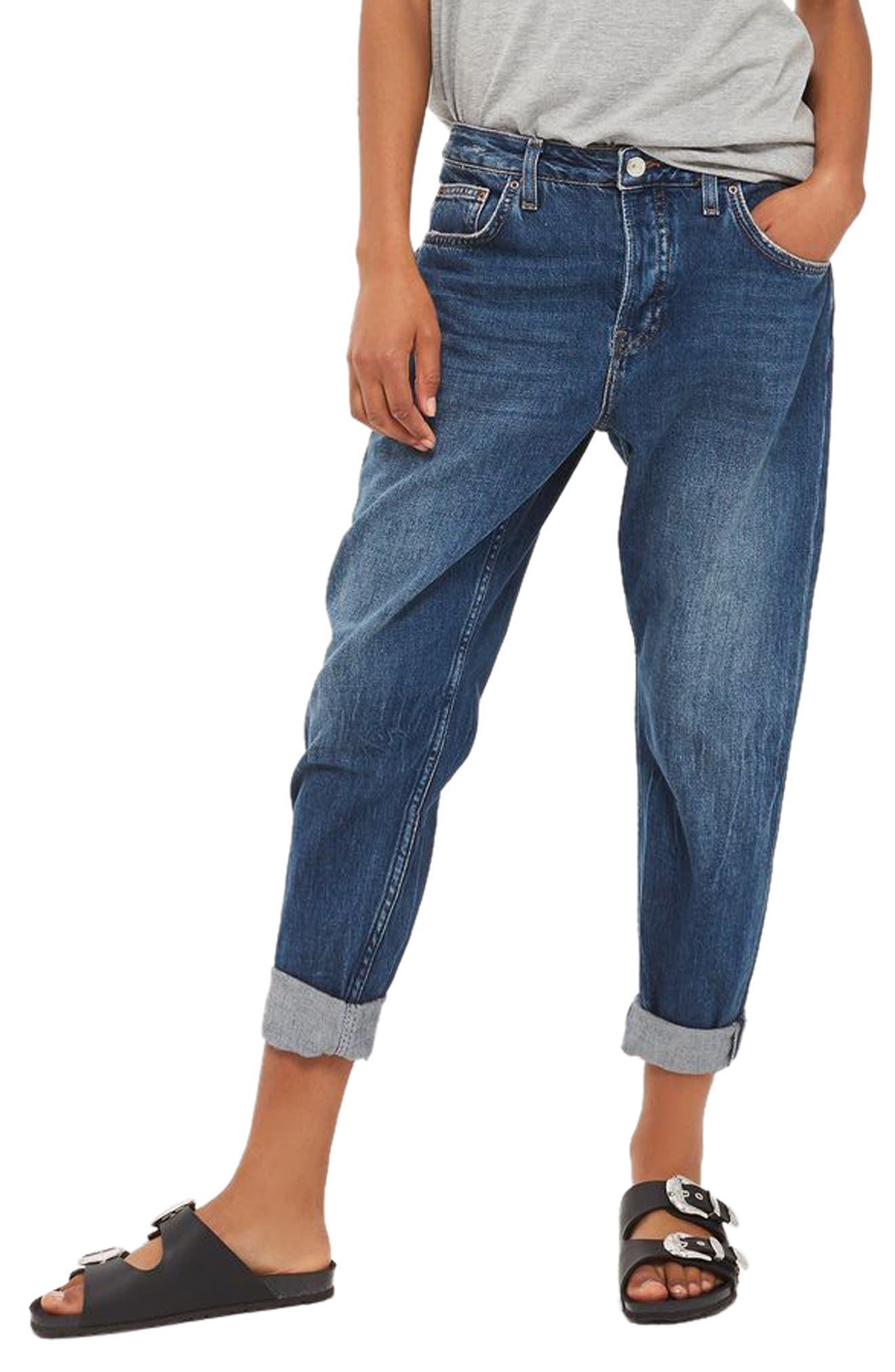 Topshop Hayden Boyfriend Jeans (Petite)