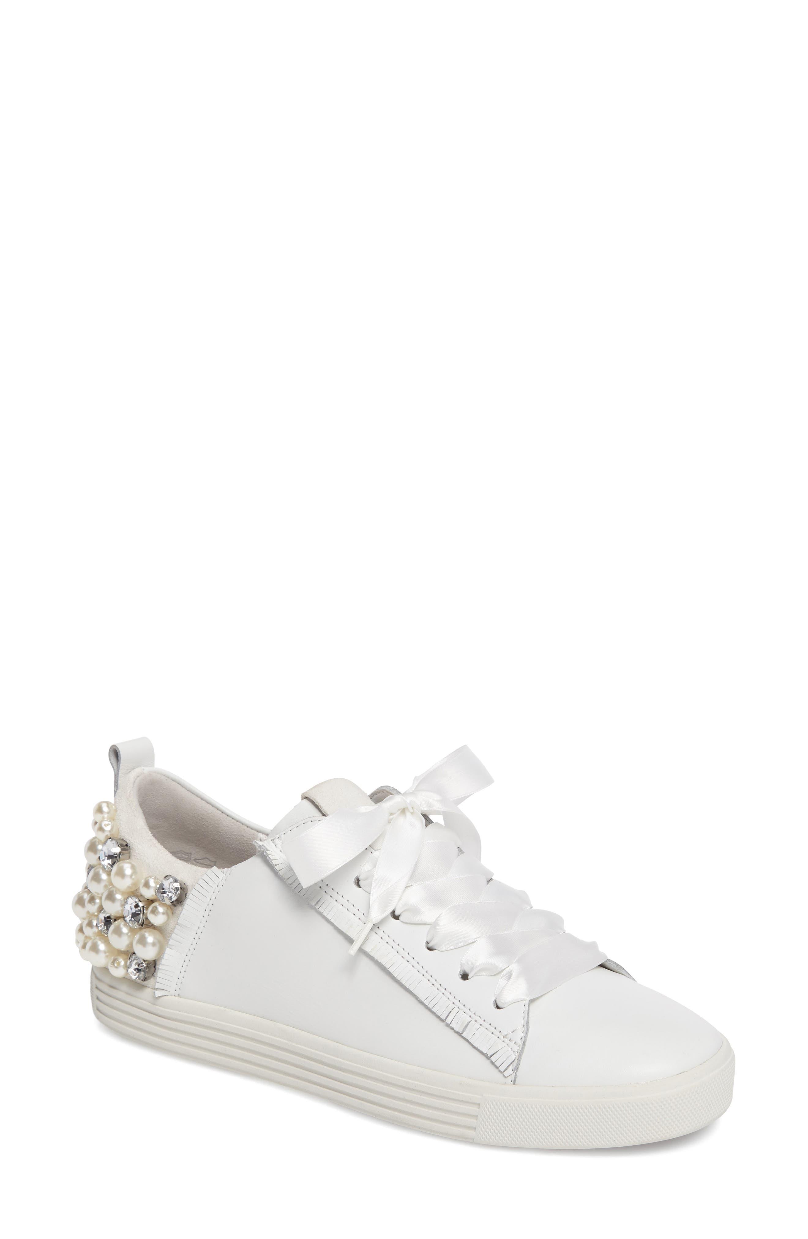 Alternate Image 1 Selected - Kennel & Schmenger Town Flower Sneaker (Women)