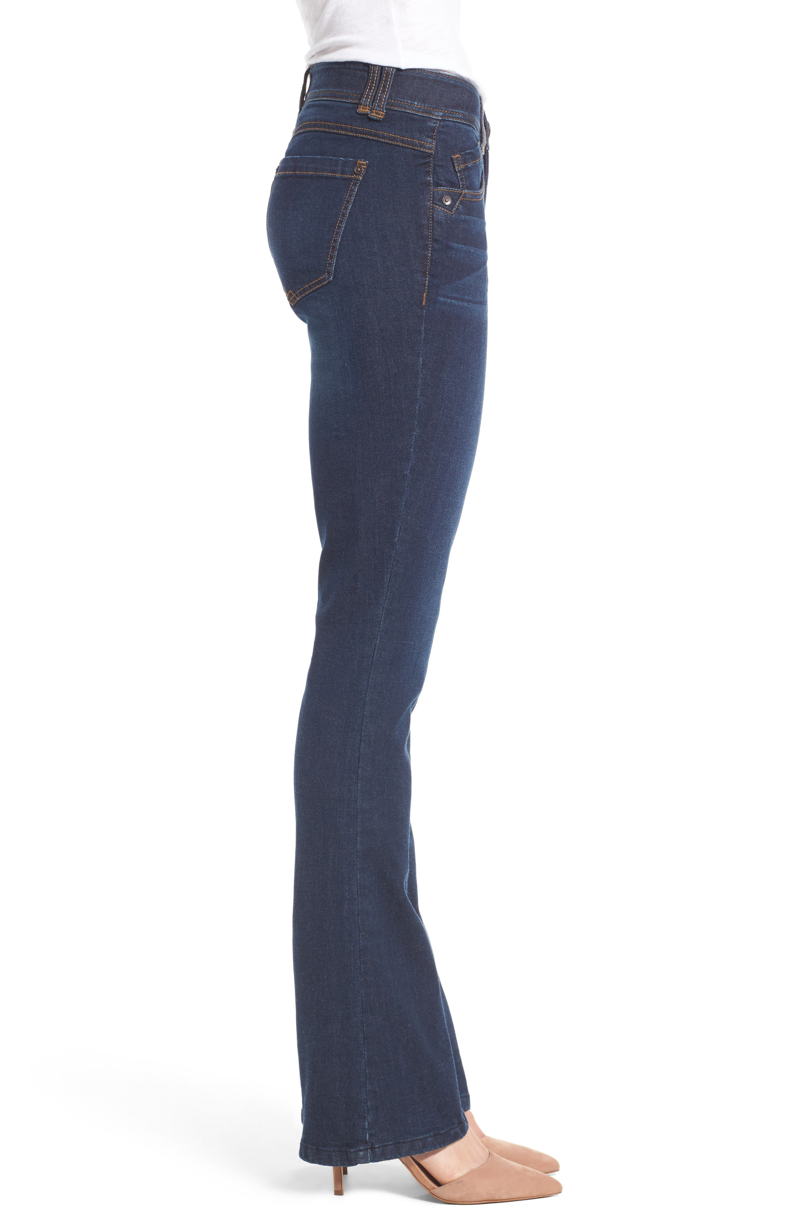 Alternate Image 4  - Wit & Wisdom Ab-solution Itty Bitty Bootcut Jeans (Regular & Petite) (Nordstrom Exclusive)