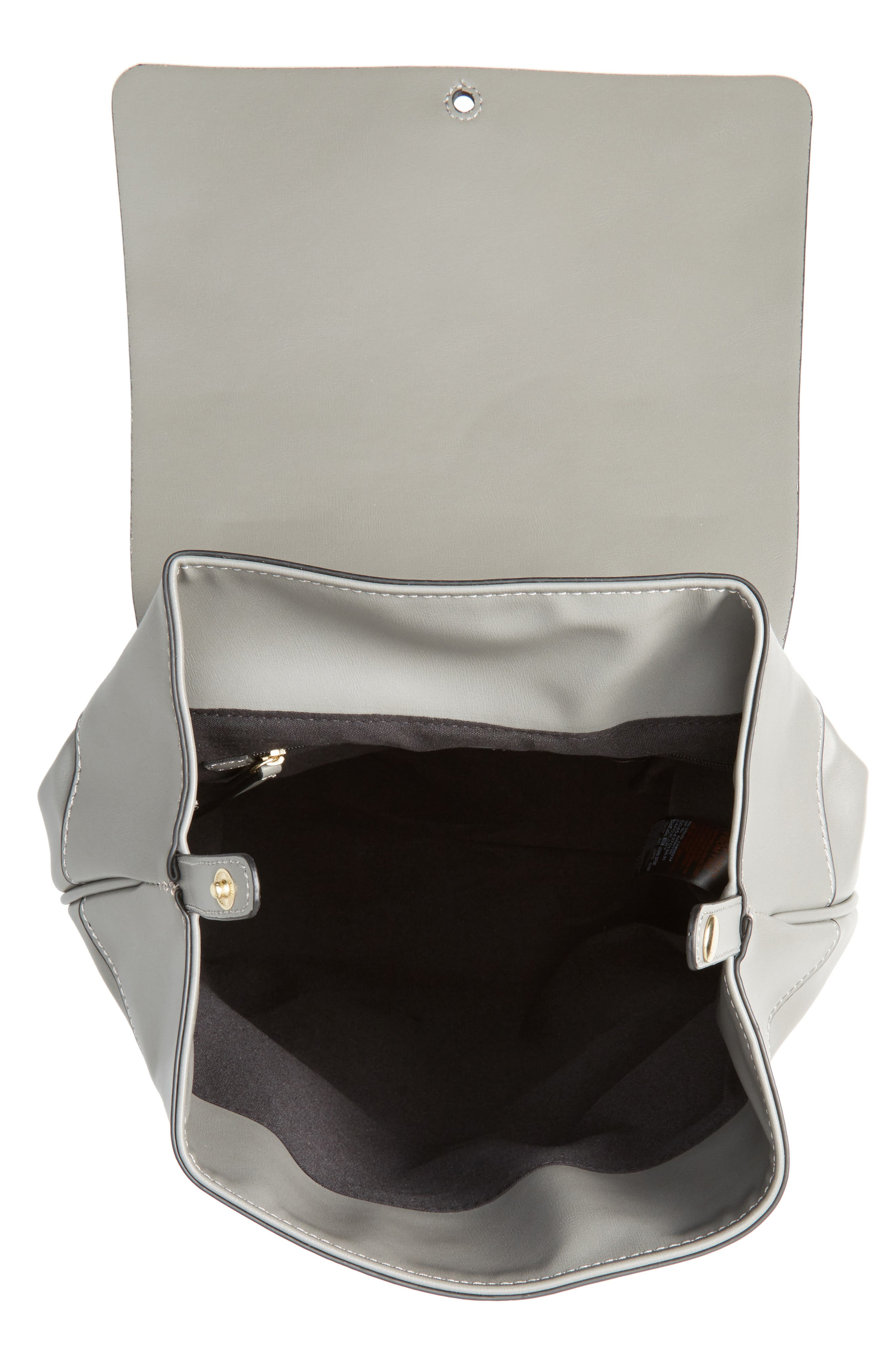 Alternate Image 4  - Topshop Barnet Faux Leather Backpack