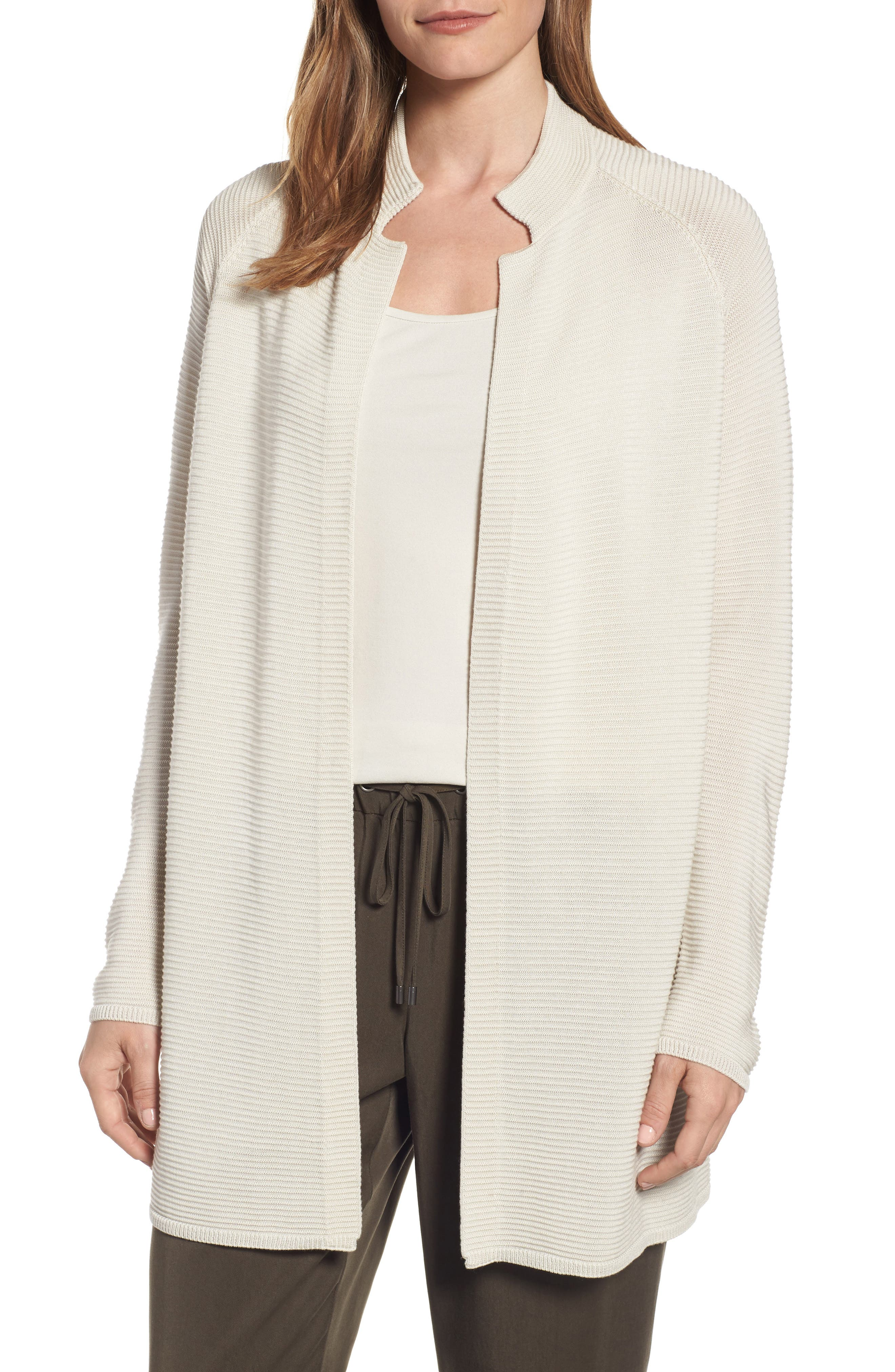 Eileen Fisher Long Tencel® Knit Jacket