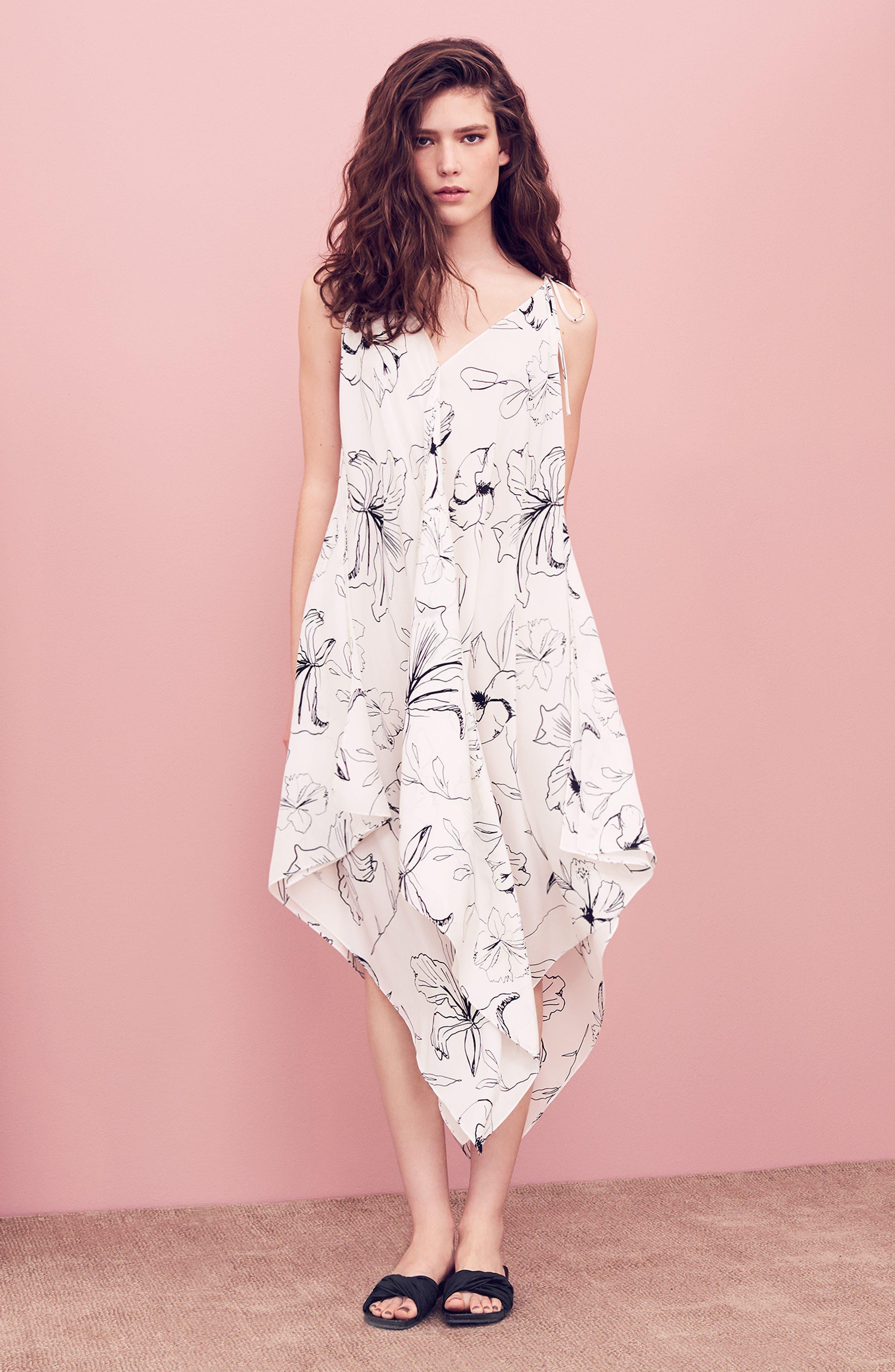 Diane von Furstenberg Midi Dress with Accessories