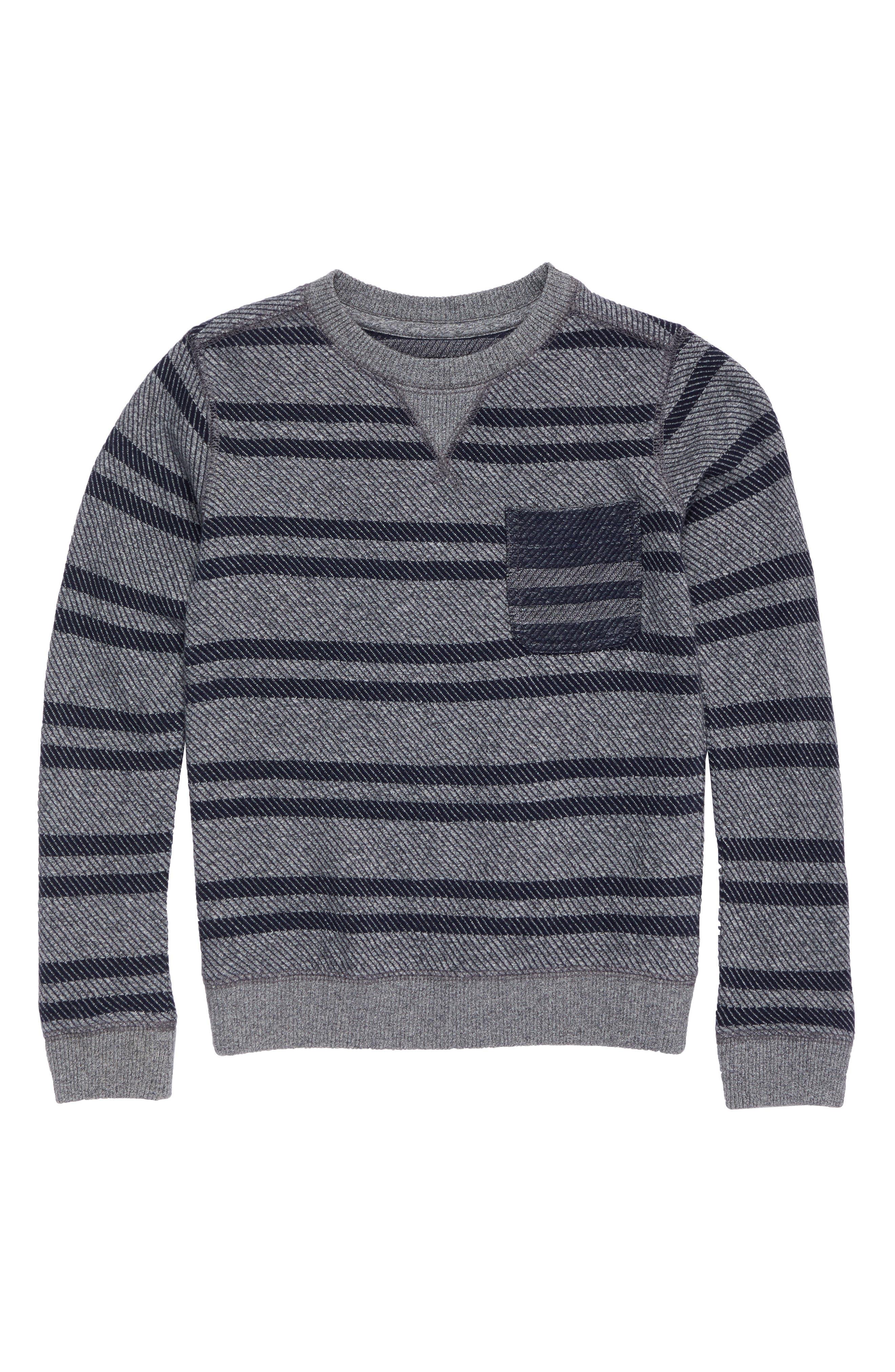 Tucker + Tate Stripe Sweatshirt (Toddler Boys & Little Boys)