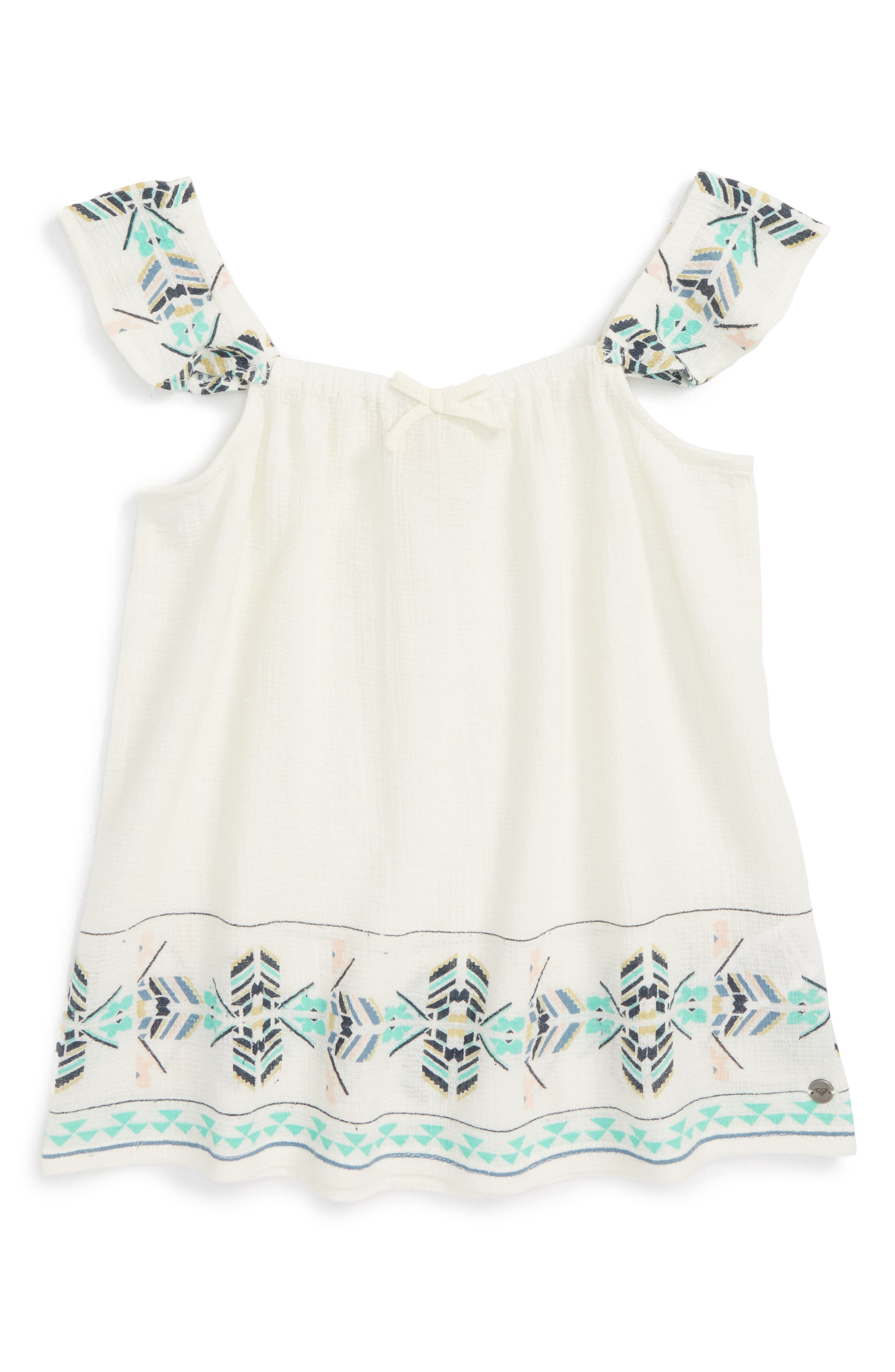 Roxy Are You Gonna Flutter Sleeve Tank (Big Girls)